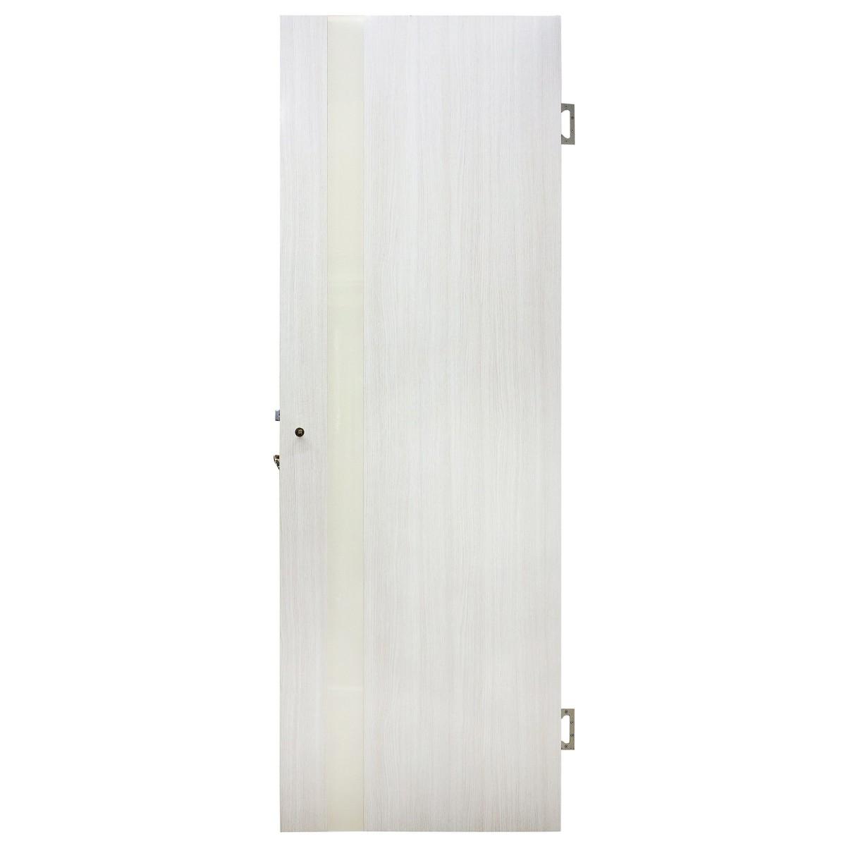 Дверь Межкомнатная Остеклённая Марсель Пвх 70x200 Белёный Дуб