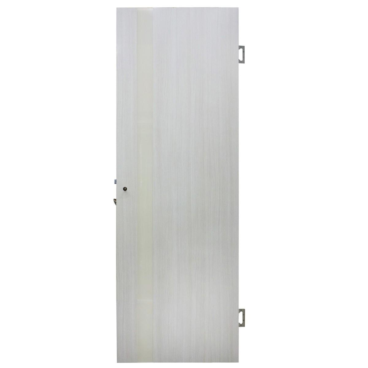 Дверь межкомнатная остеклённая Марсель ПВХ 80x200 см белёный дуб