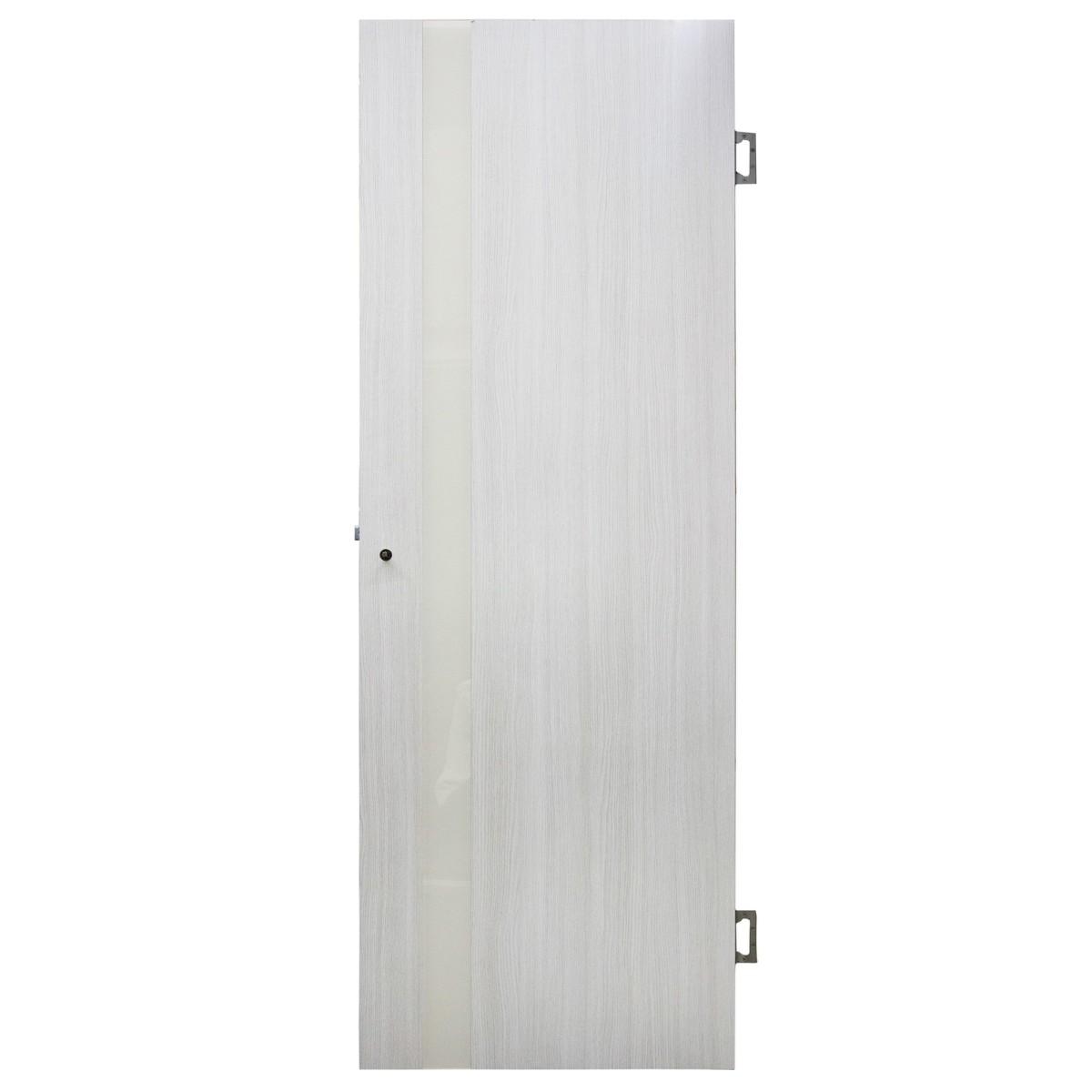 Дверь Межкомнатная Остеклённая Марсель Пвх 90x200 Белёный Дуб