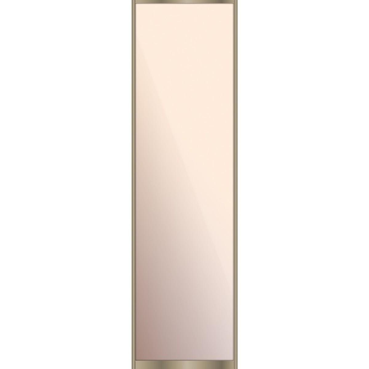 Дверь-купе 2555х704 мм цвет зеркало/шампань