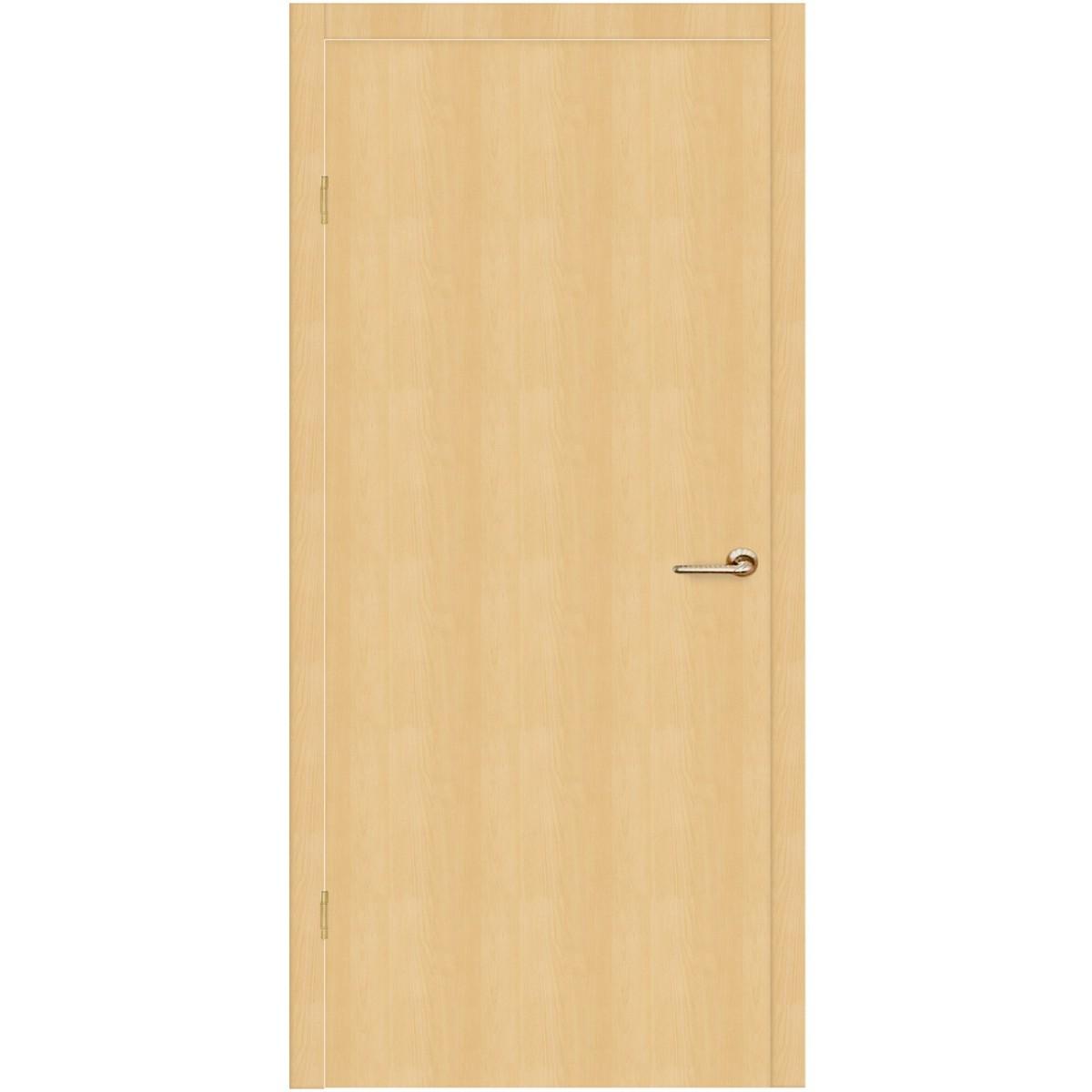 Дверь межкомнатная глухая Belleza 70x200 см ламинация цвет дуб белый