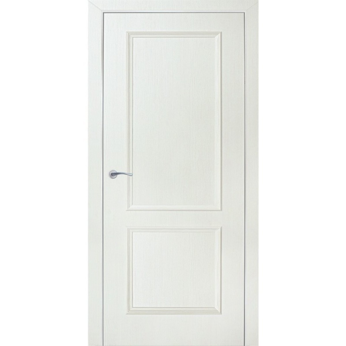 Дверь межкомнатная глухая Altro 70x200 см ламинация цвет бьянко 3D