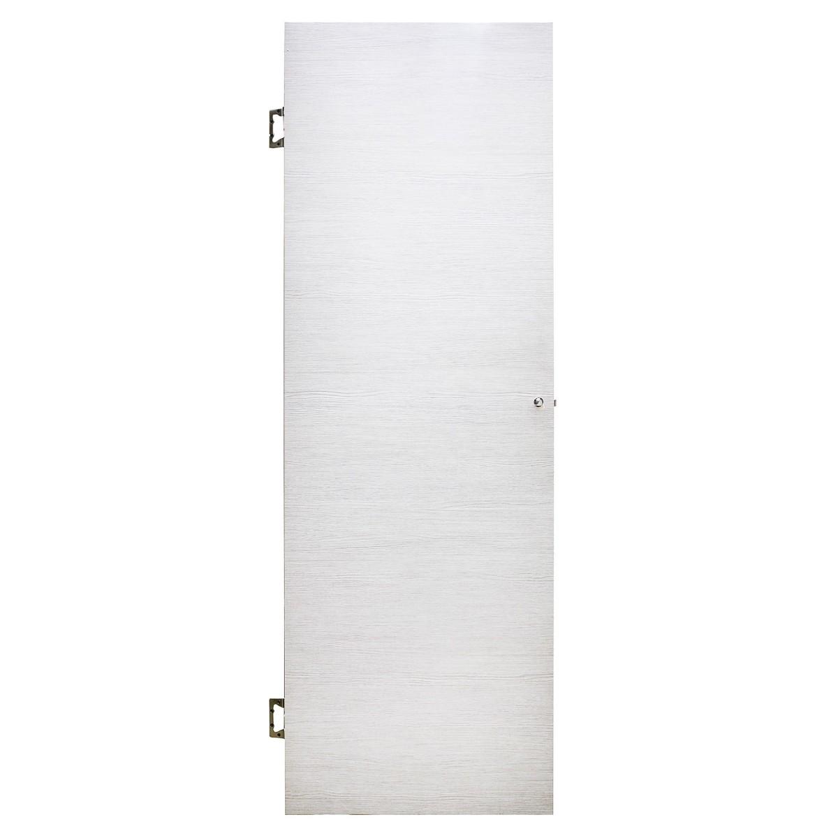 Дверь Межкомнатная Глухая Эклипс 60x200 Цвет Серый Дуб
