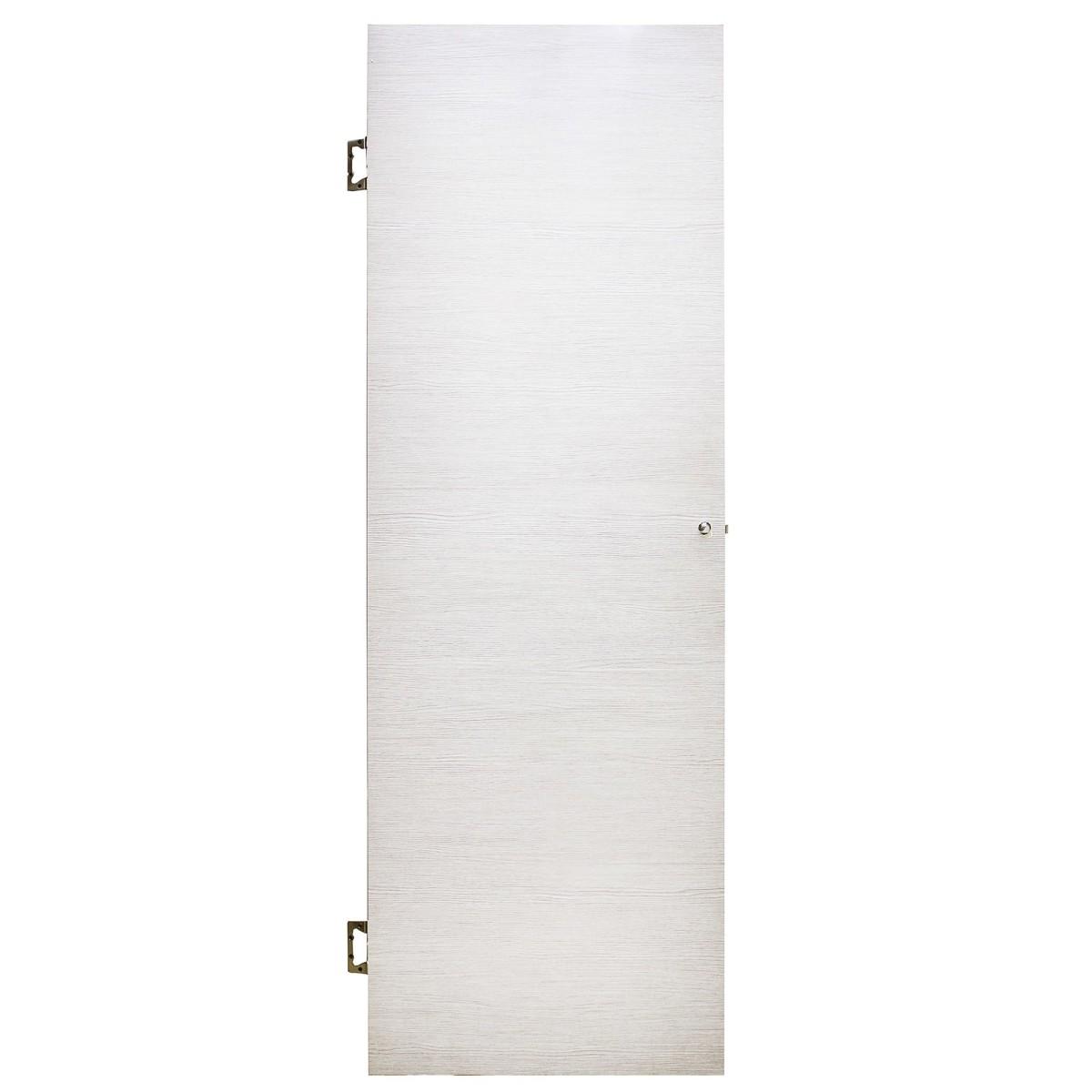 Дверь Межкомнатная Глухая Эклипс 80x200 Цвет Серый Дуб