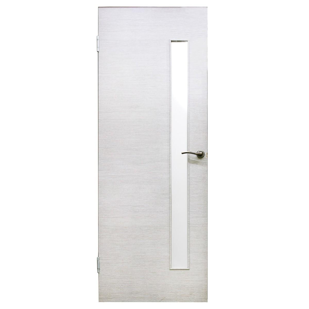 Дверь Межкомнатная Остеклённая Эклипс 60x200 Цвет Серый Дуб