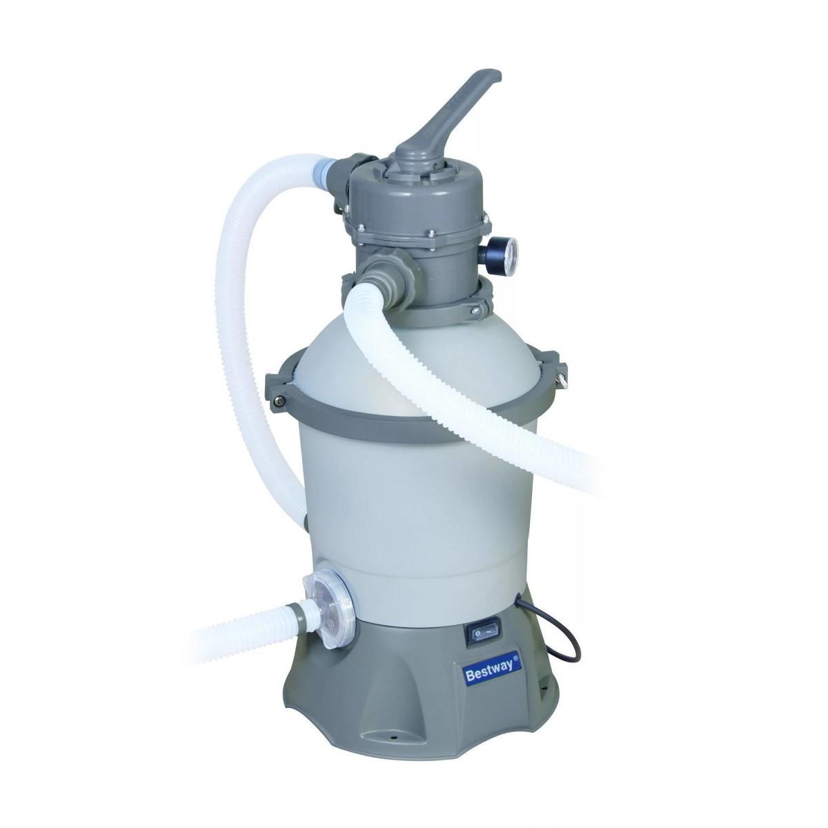 Фильтр-насос песочный для бассейнов 1100-16000 л