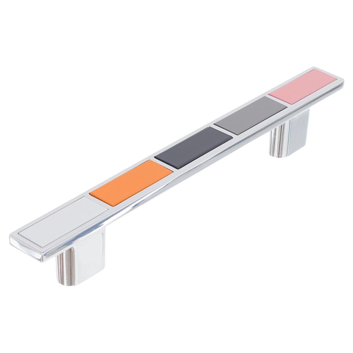 Ручка-Скоба Boyard Rs282cp/Mc54 128 Металл Цвет Глянцевый Хром