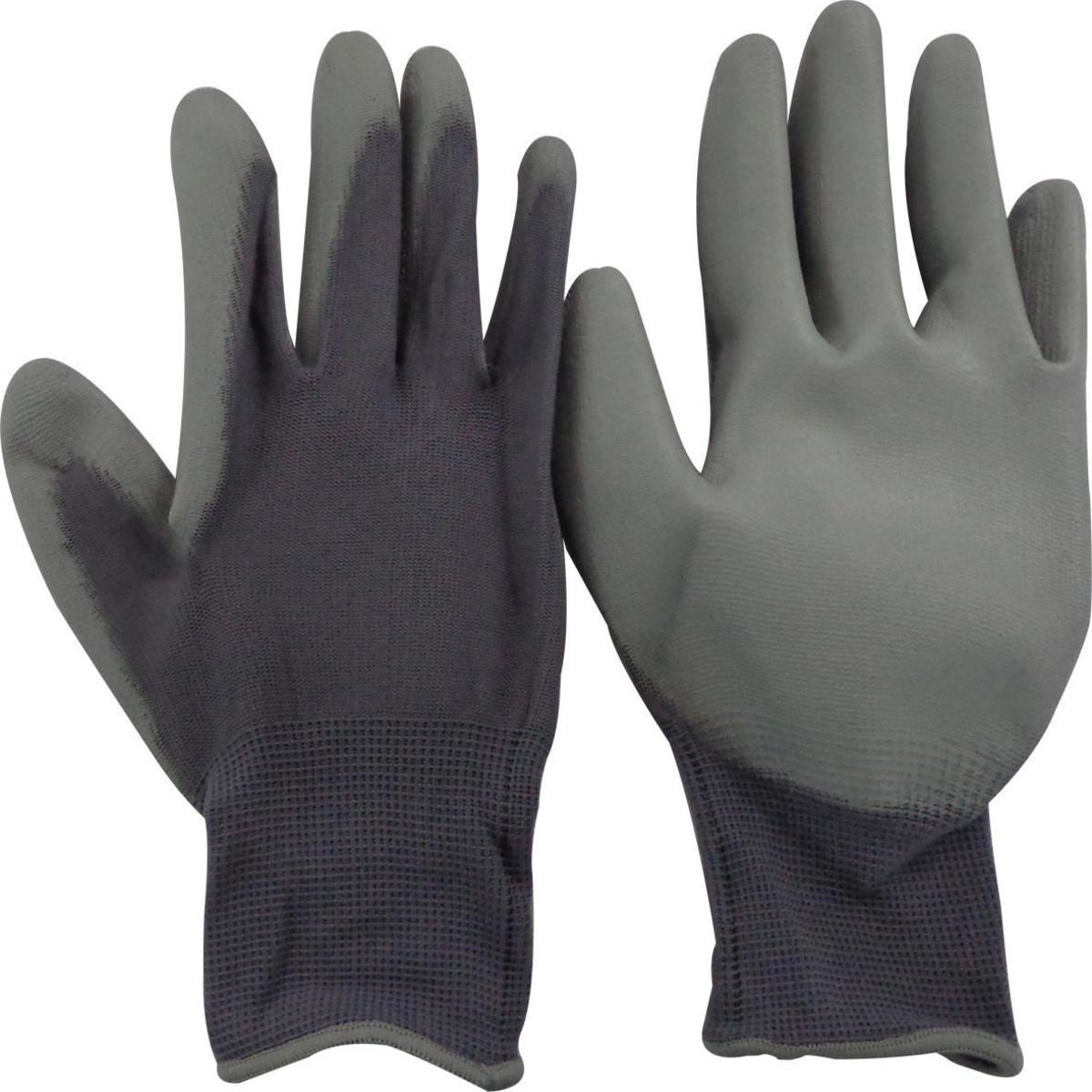 Перчатки Dexter нейлоновые с полиуретановым покрытием размер 9