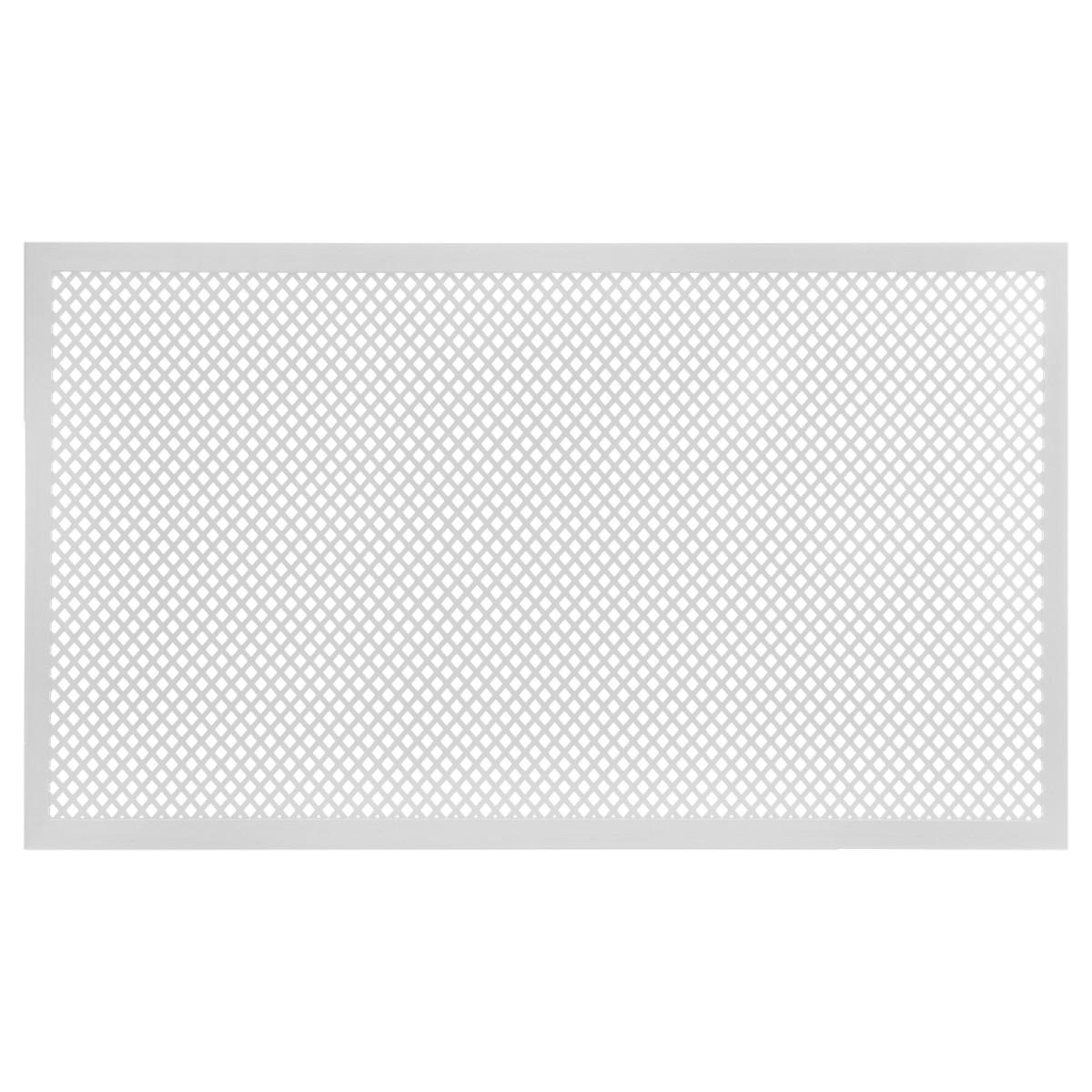 Короб декоративный для радиатора Глория 60х90 см цвет белый