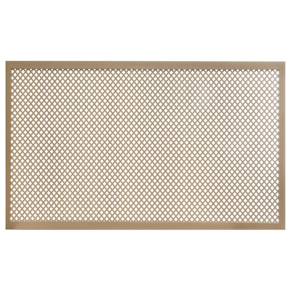 Короб декоративный для радиатора Глория 60х90 см цвет бук