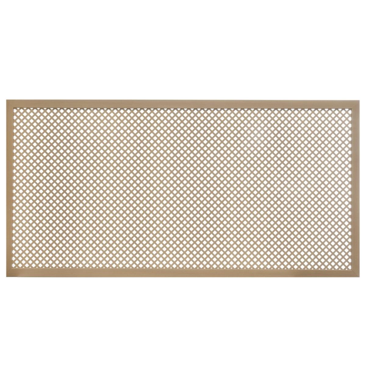 Короб декоративный для радиатора Глория 60х120 см цвет бук