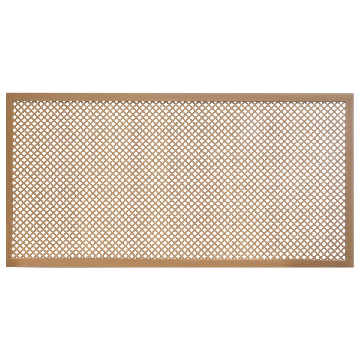 Короб декоративный для радиатора Глория 60х120 см цвет вишня
