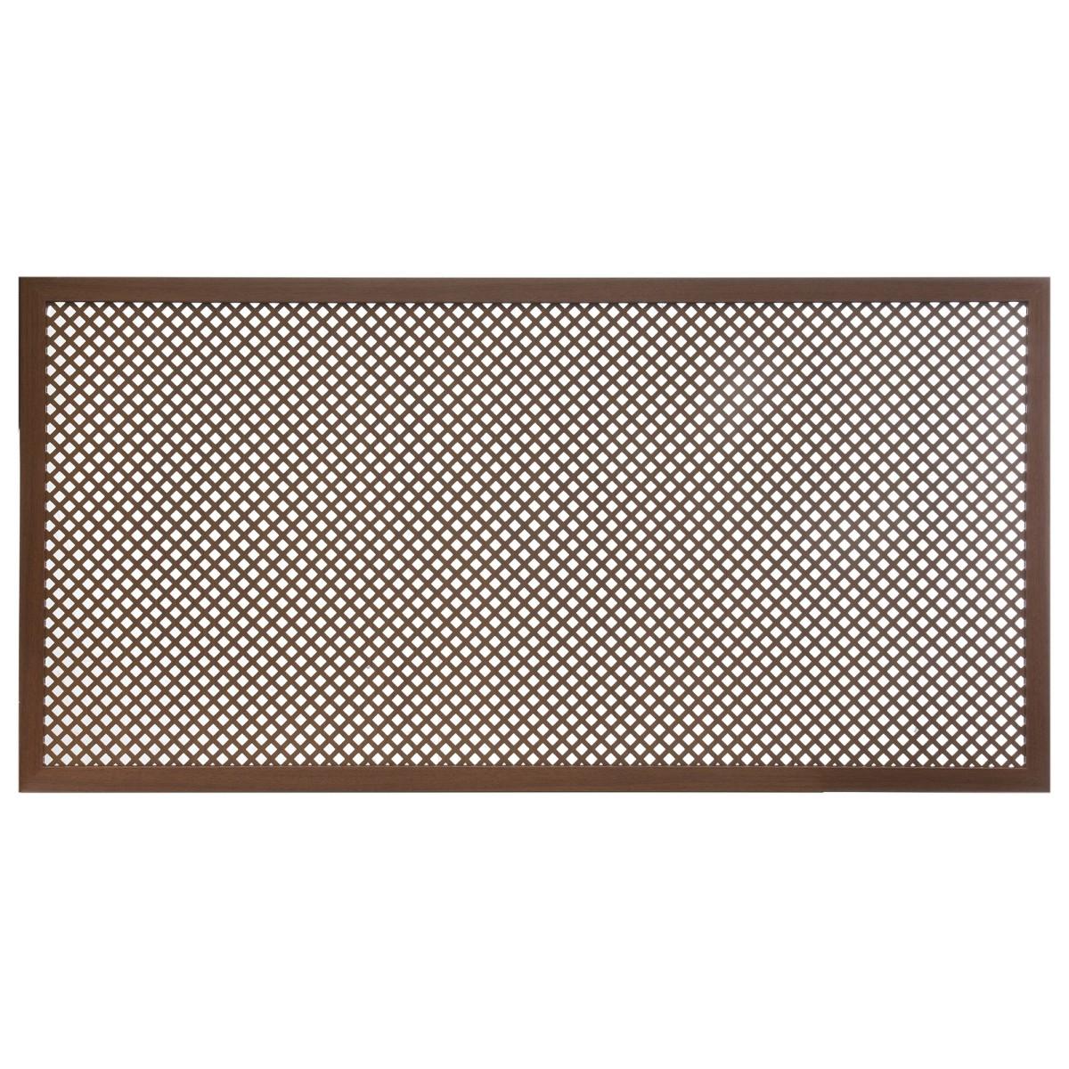 Короб декоративный для радиатора Глория 60х120 см цвет орех