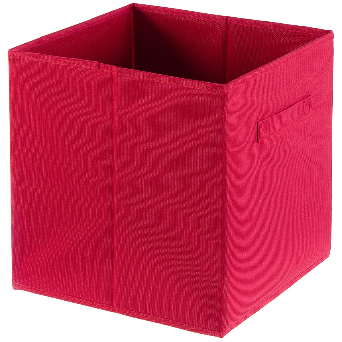 Короб Spaceo 310x310x310 мм 29.7 л полиэстер цвет красный