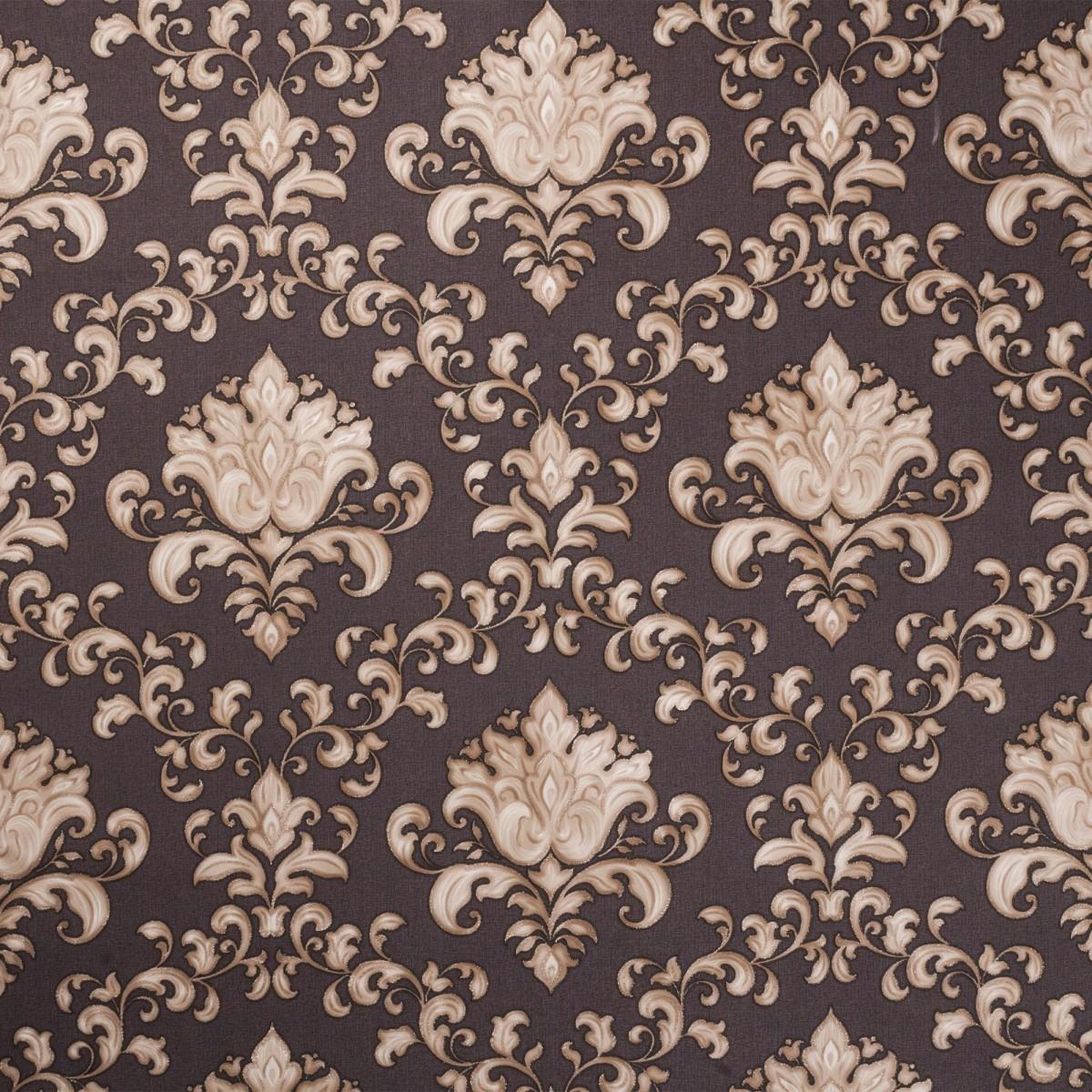 Обои флизелиновые 1.06х10 м дамаск цвет коричневый ЭР 4338-6