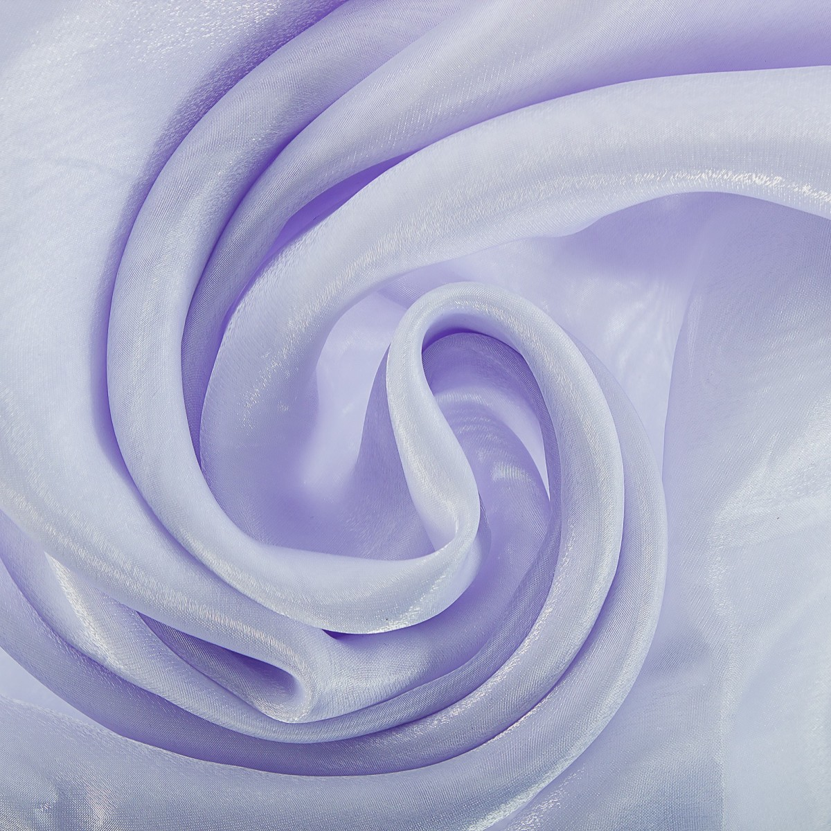 Тюль 1 п/м 280 см органза/сатин цвет белый