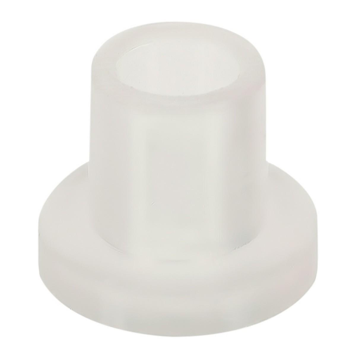 Втулка L-8 для стекла 6-8 мм пластик цвет прозрачный 8 шт.