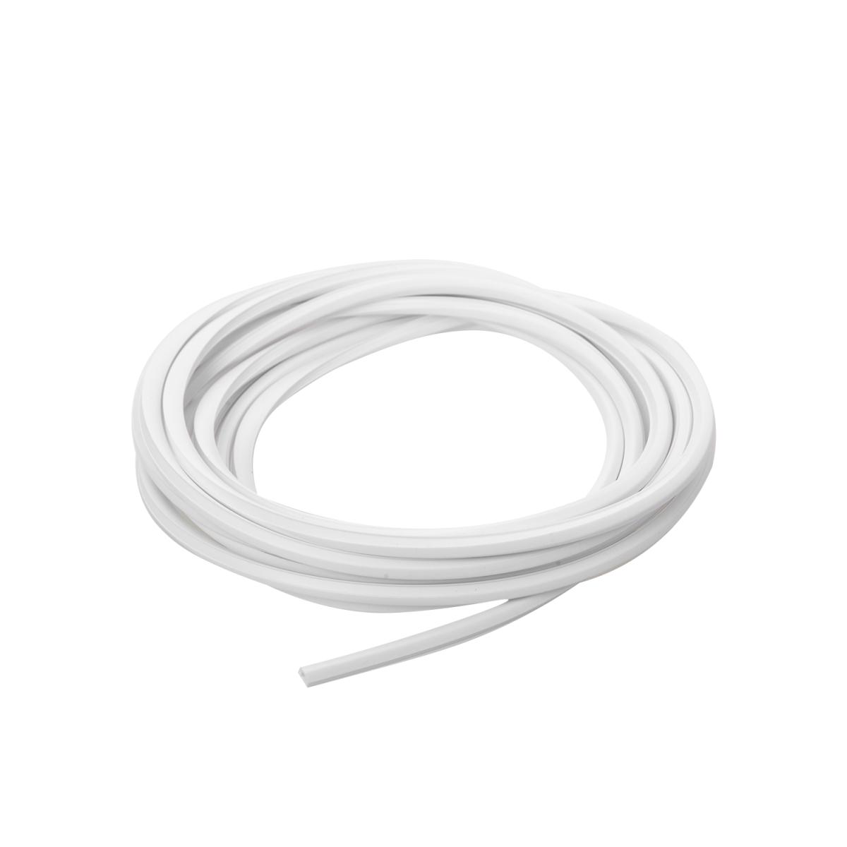 Заглушка для оконного профиля цвет белый 4 м/уп.