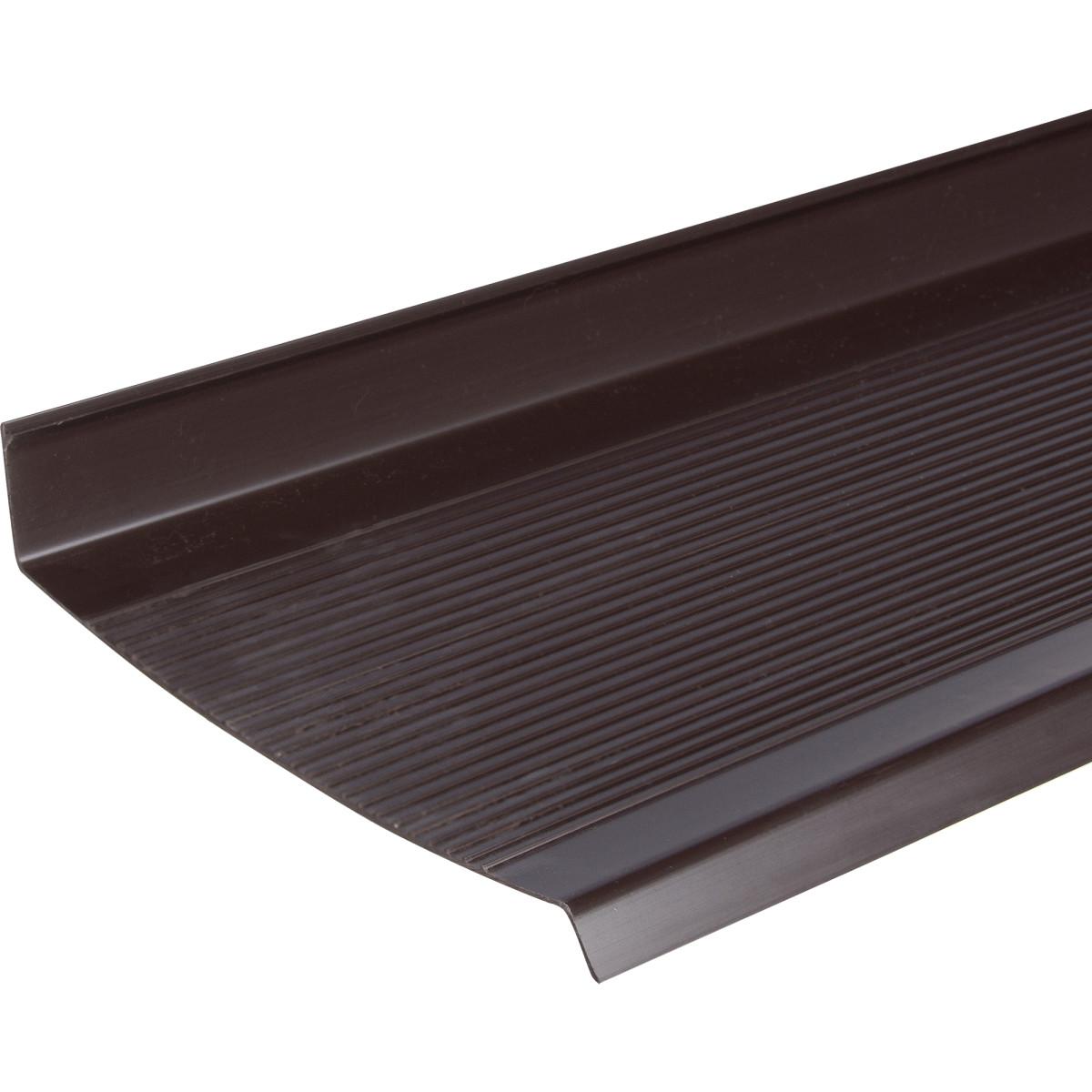 Отлив ПВХ 300x18 см цвет коричневый