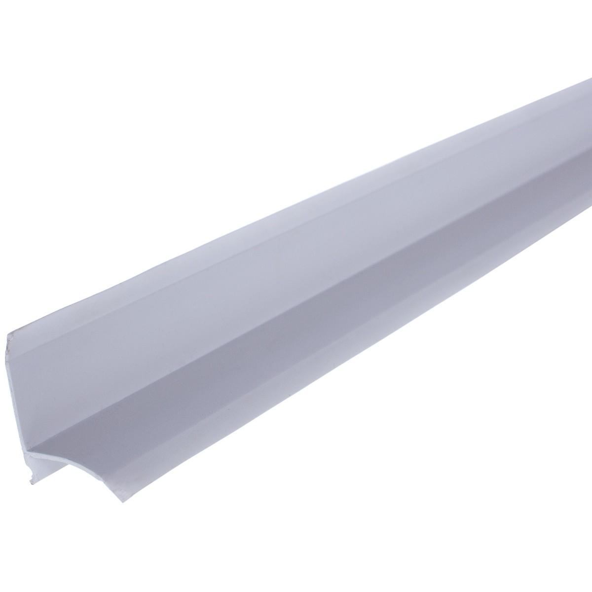 Бордюр для ванны 200 см цвет белый