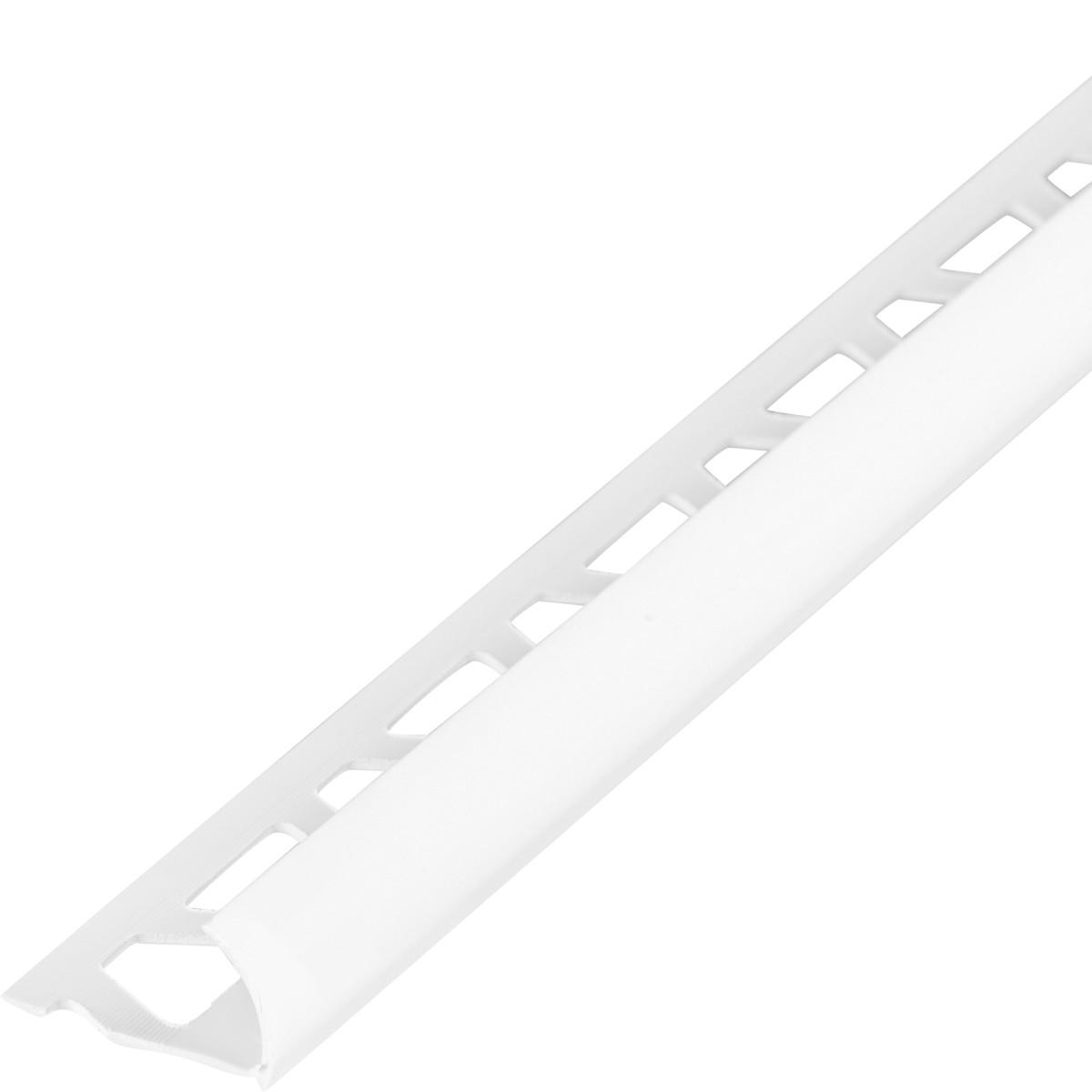 Профиль наружный глянцевый 10 мм цвет белый