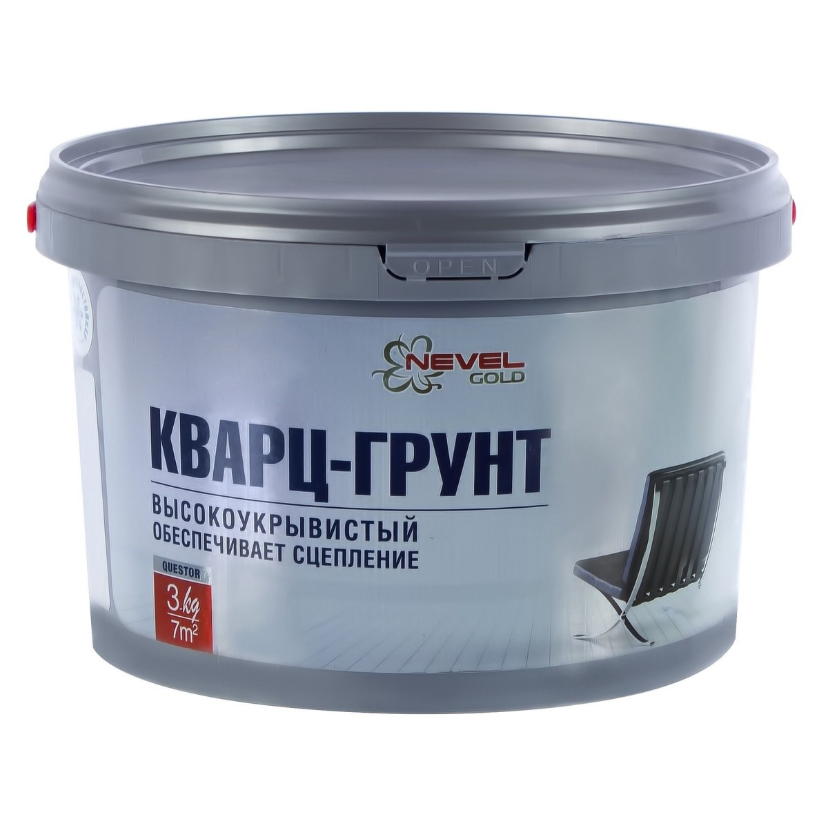 Грунт- кварц Questor 3 кг