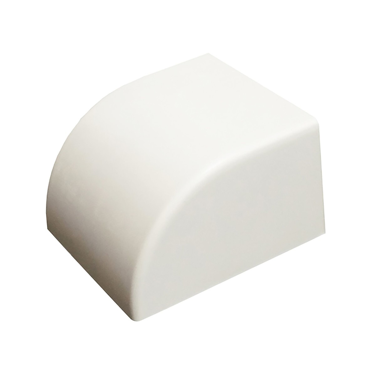 Заглушка 40/60 мм цвет белый 2 шт.