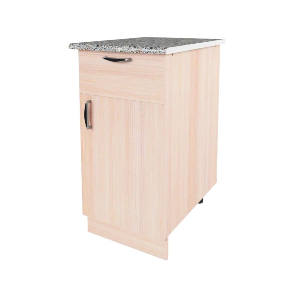 Шкаф напольный Дуб молочный Е 40 см