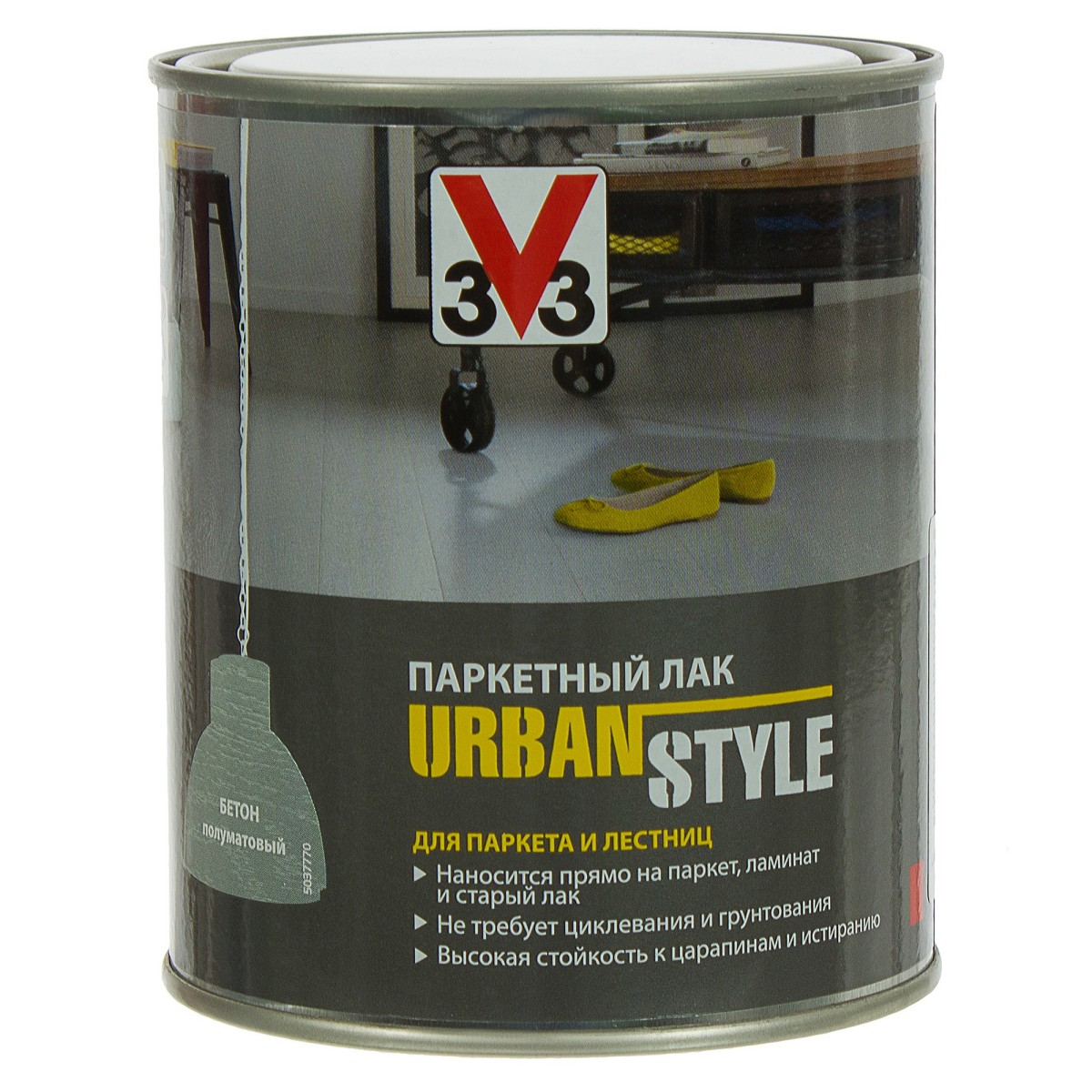 Лак Urban style V33 цвет бетона 0.75 л