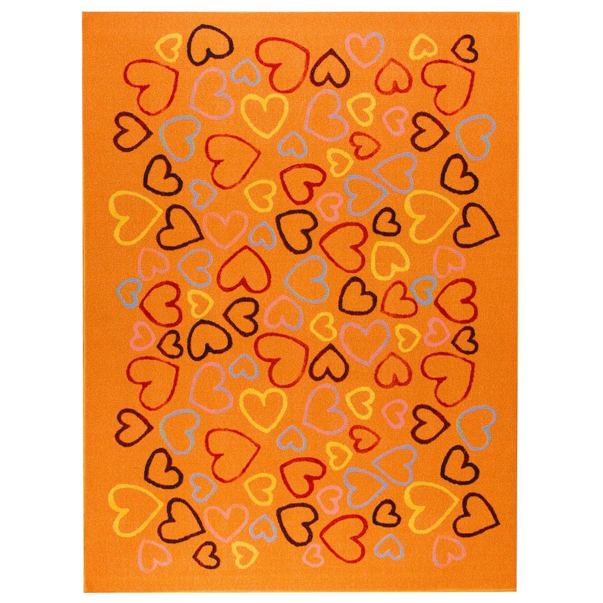 Ковёр Детский Сердечки 204 15x2 М Полиамид