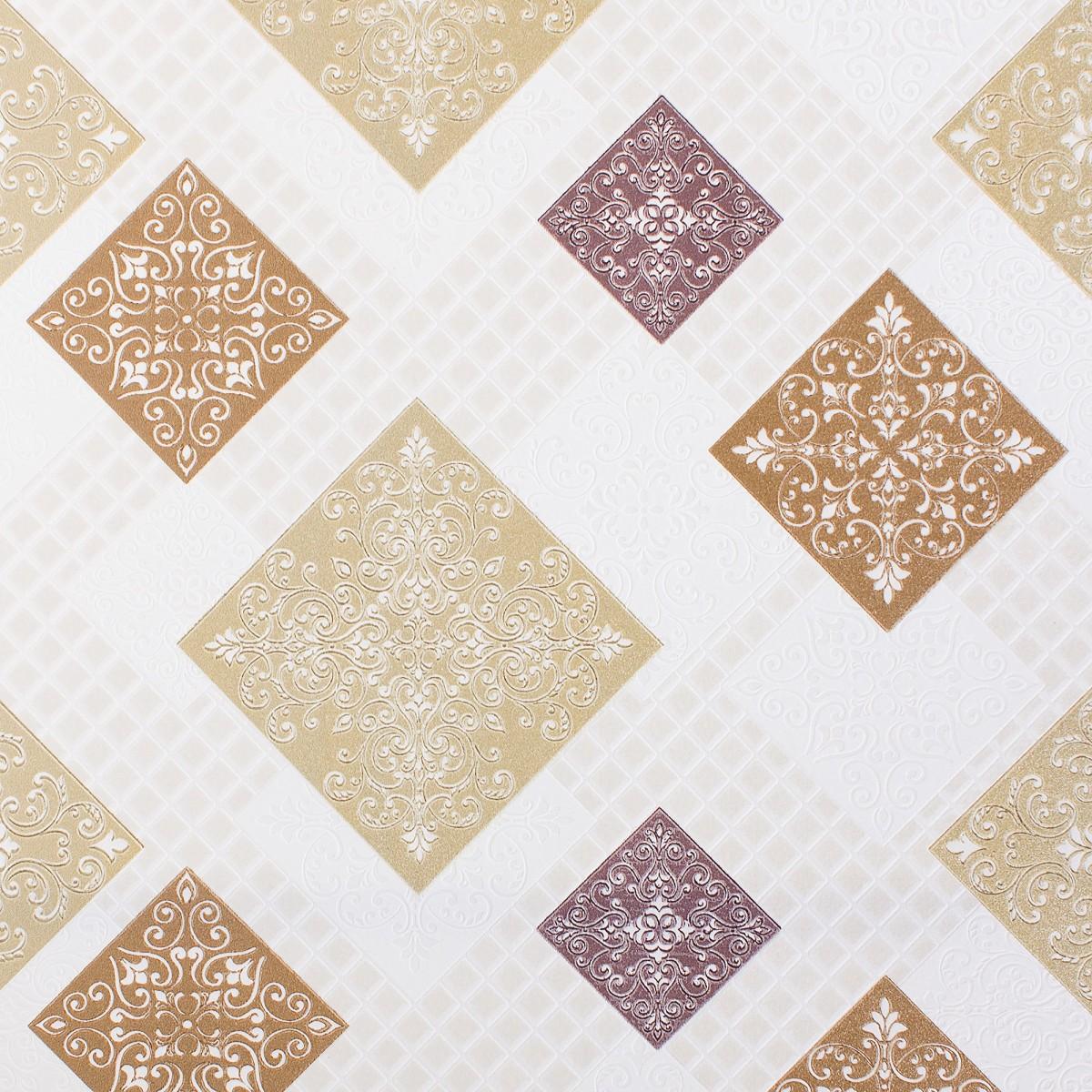 Обои на бумажной основе 0.53х10 м цвет бронзовый Ин 162011-21