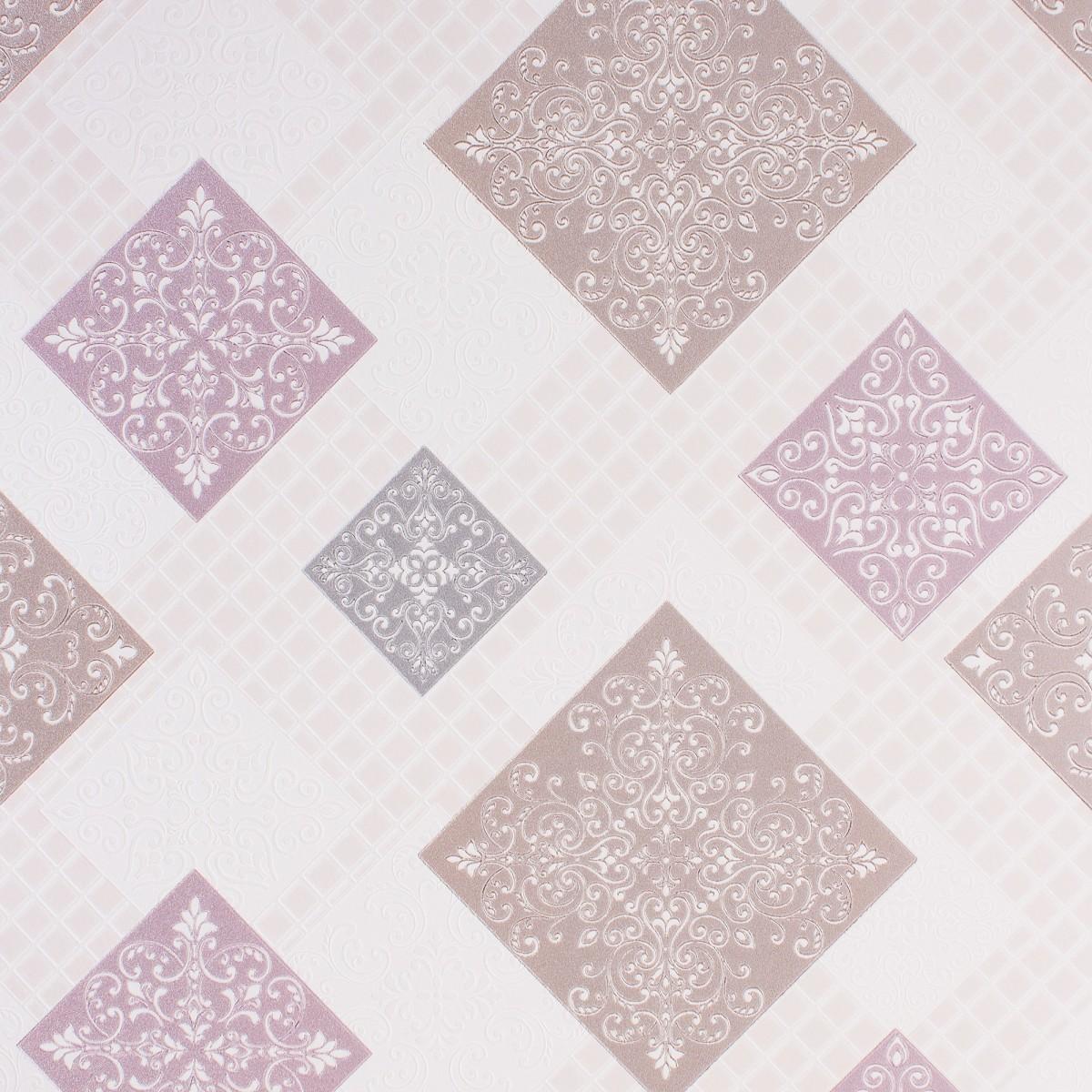 Обои на бумажной основе 0.53х10 м цвет розовый Ин 162011-23