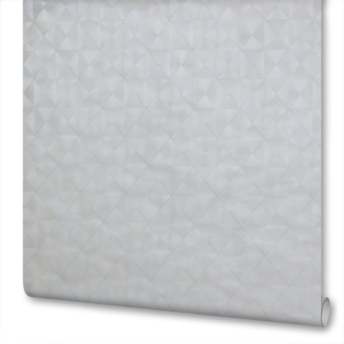 Обои флизелиновые 1.06х10 м геометрия цвет серый Па 7415-44
