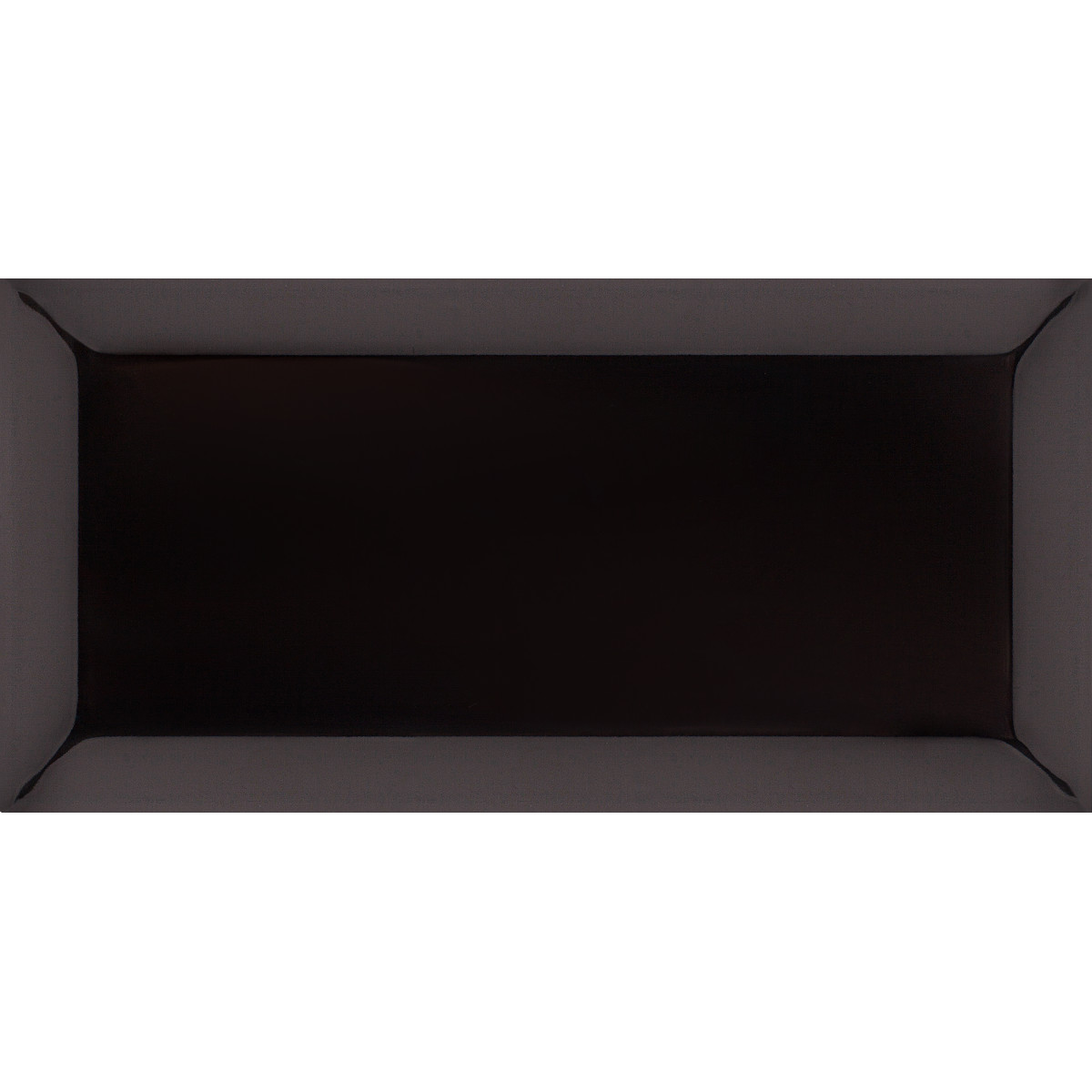 Плитка настенная Metrotiles 10х20 см 0.88 м2 цвет черный