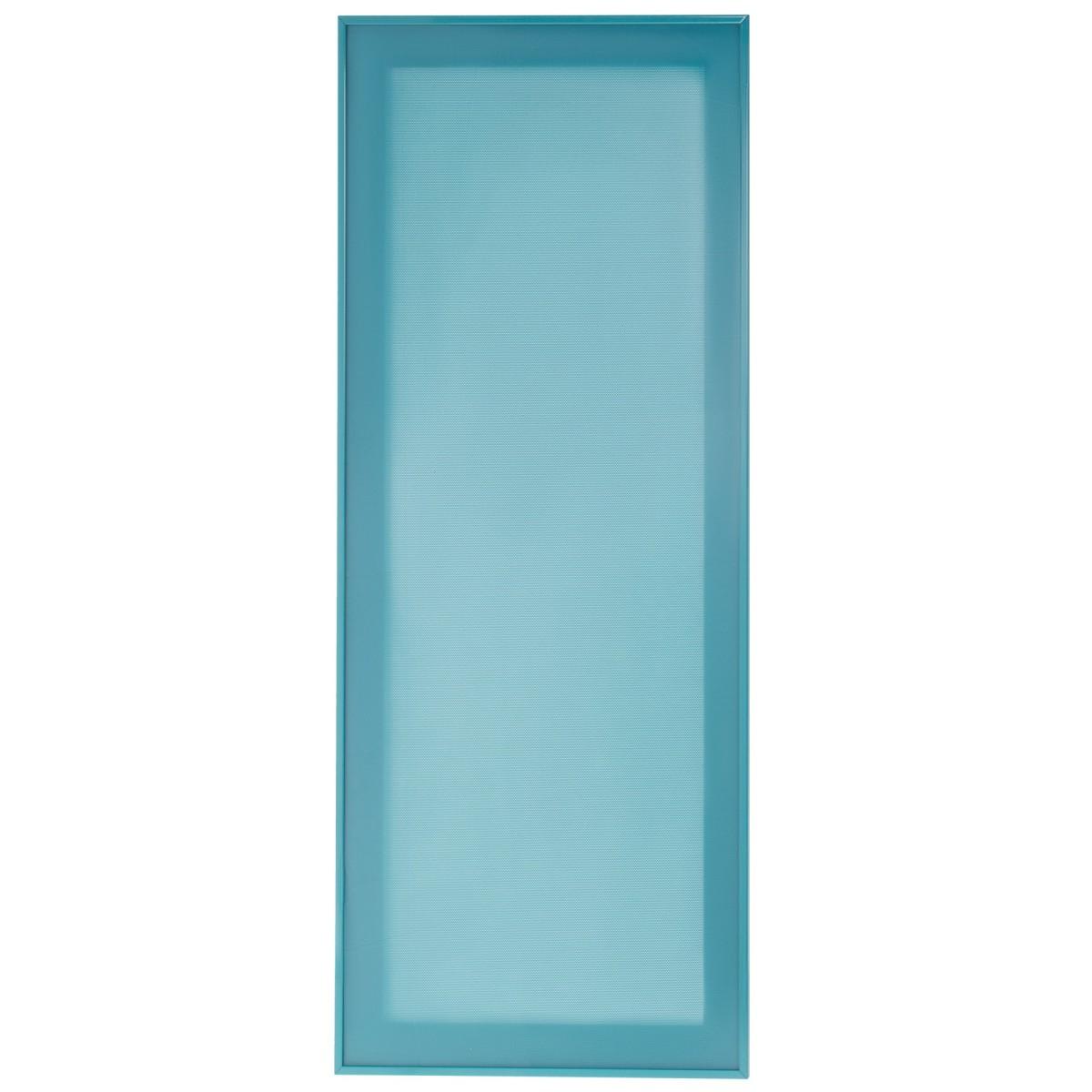 Витрина для шкафа Delinia Электрик 40x92 см алюминий/стекло цвет синий