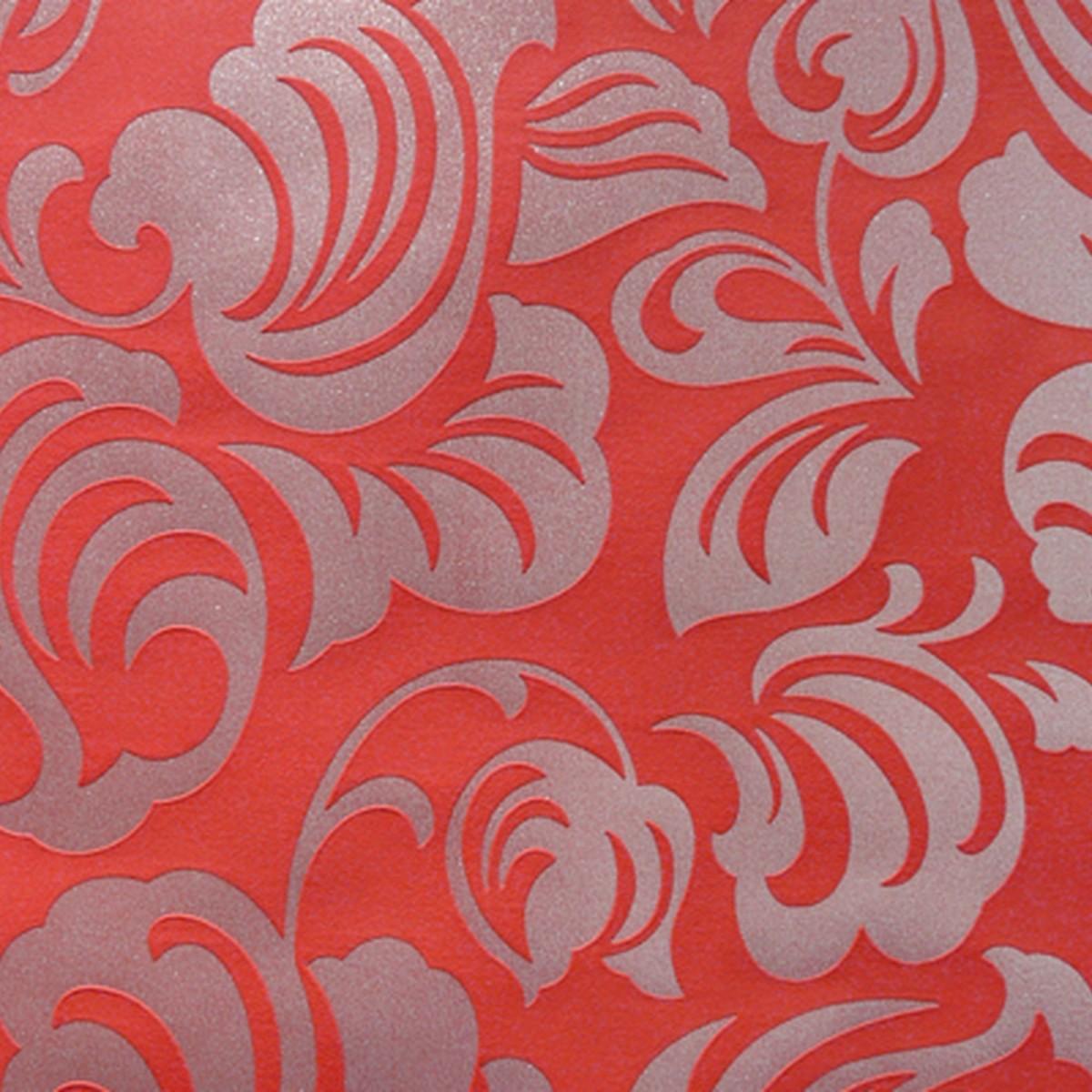Обои на флизелиновой основе 1.06х10 м цвет красный Эл Е74306