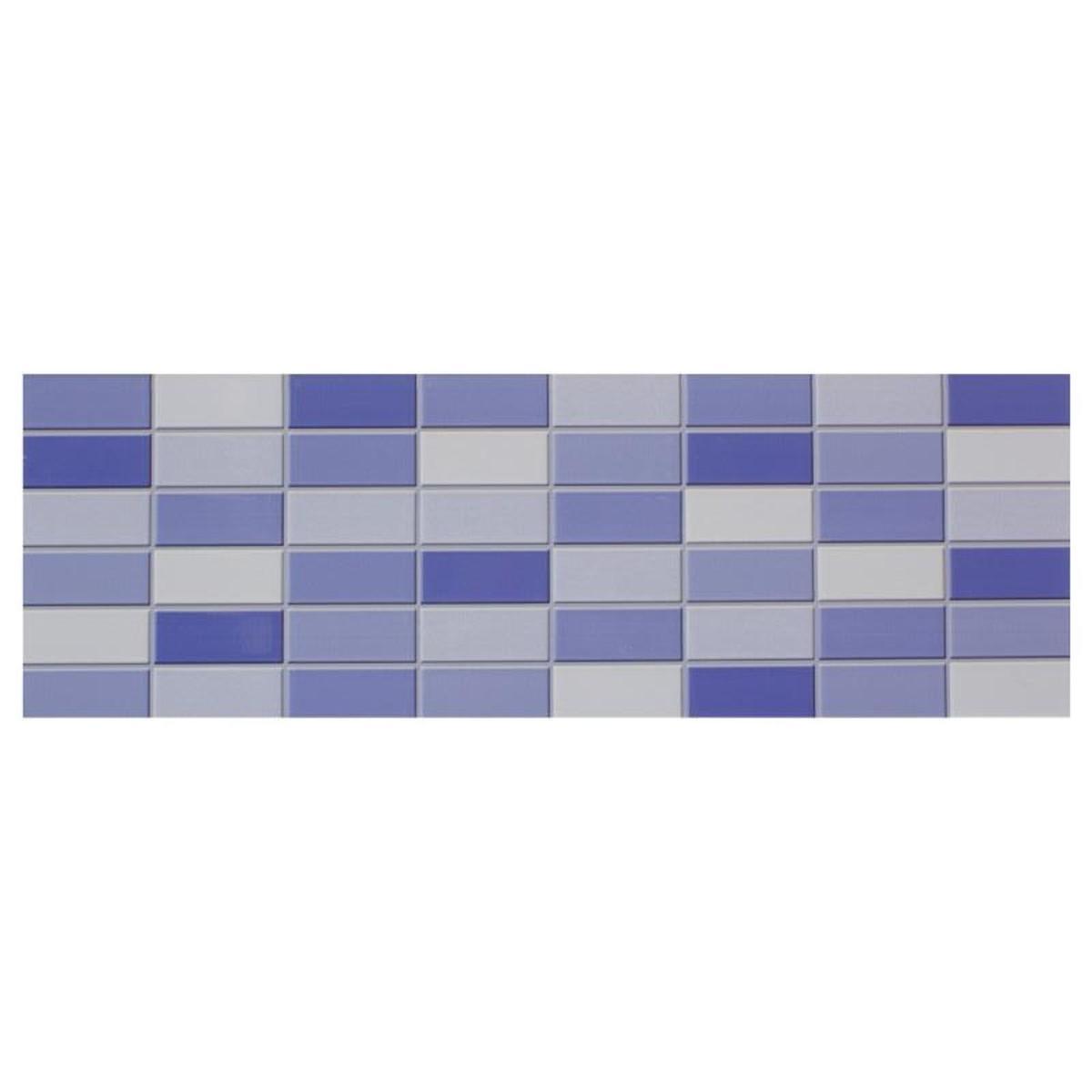 Плитка настеннаяElle 20х60 см 0.84 м2 цвет синий