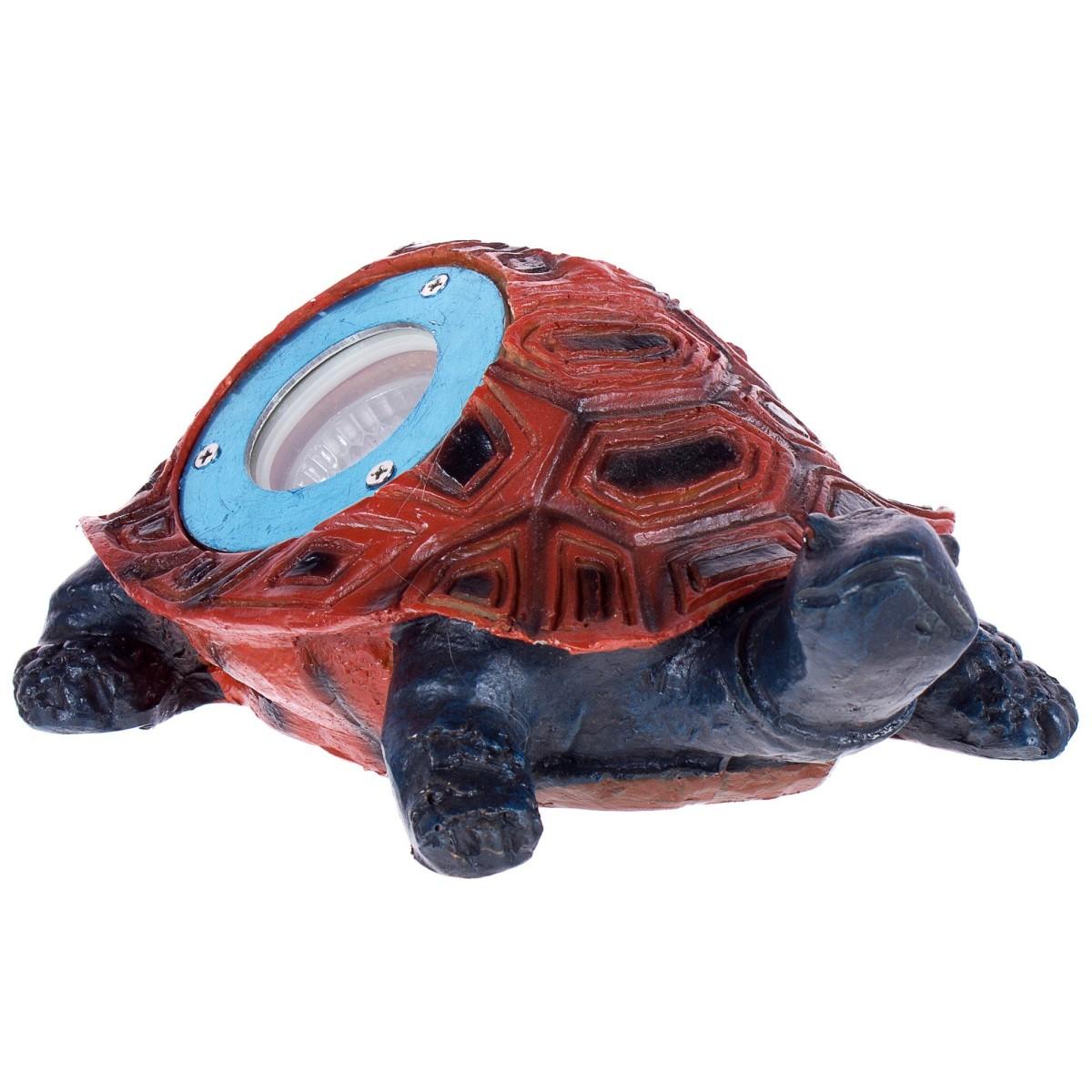 Светильник на солнечных батареях Черепаха