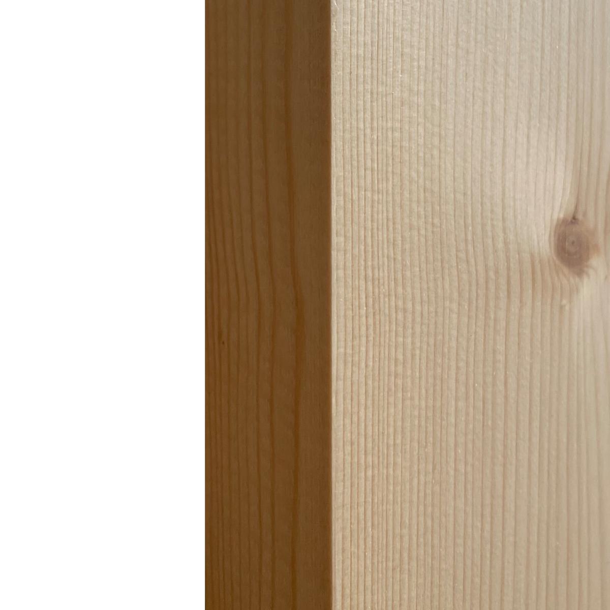 Дверь Межкомнатная Глухая Кантри 90x200 Хвоя Цвет Натуральный