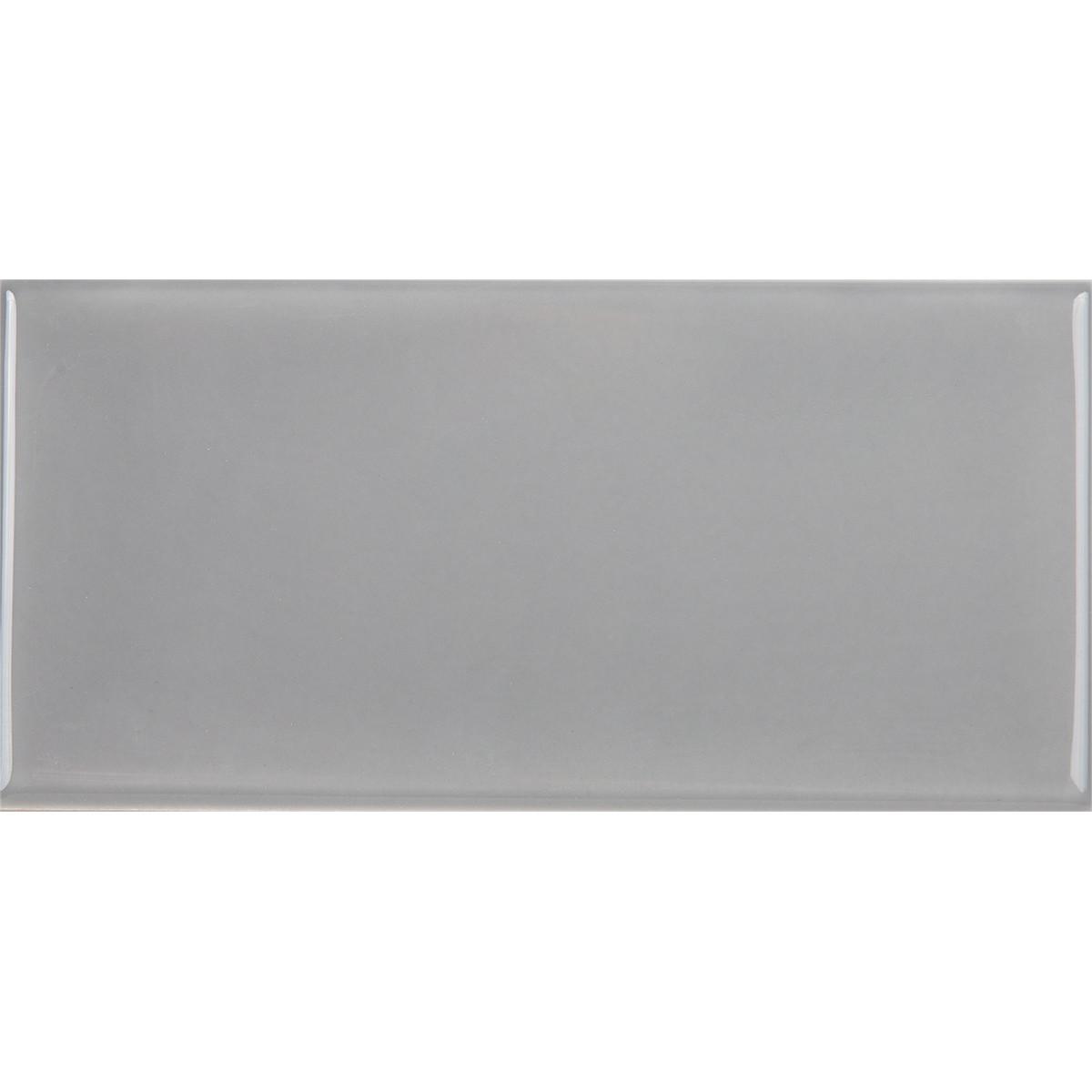 Плитка настенная Альвано 7.4х15 см 1 м2 цвет темно-серый