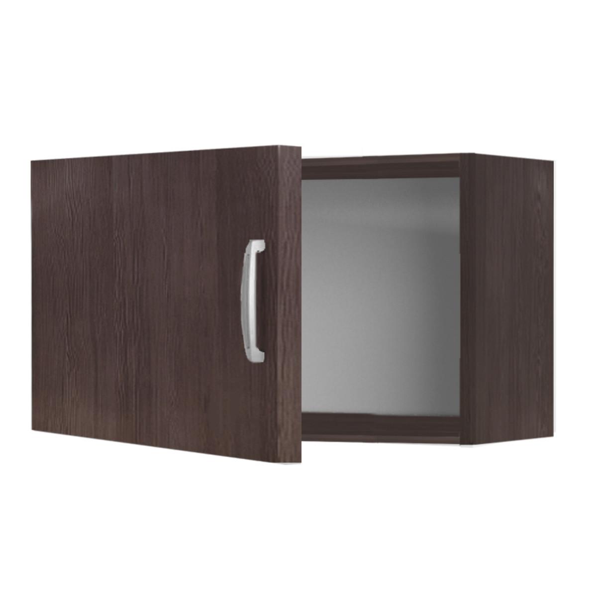 Шкаф навесной над вытяжкой Дуб Темный 60 см