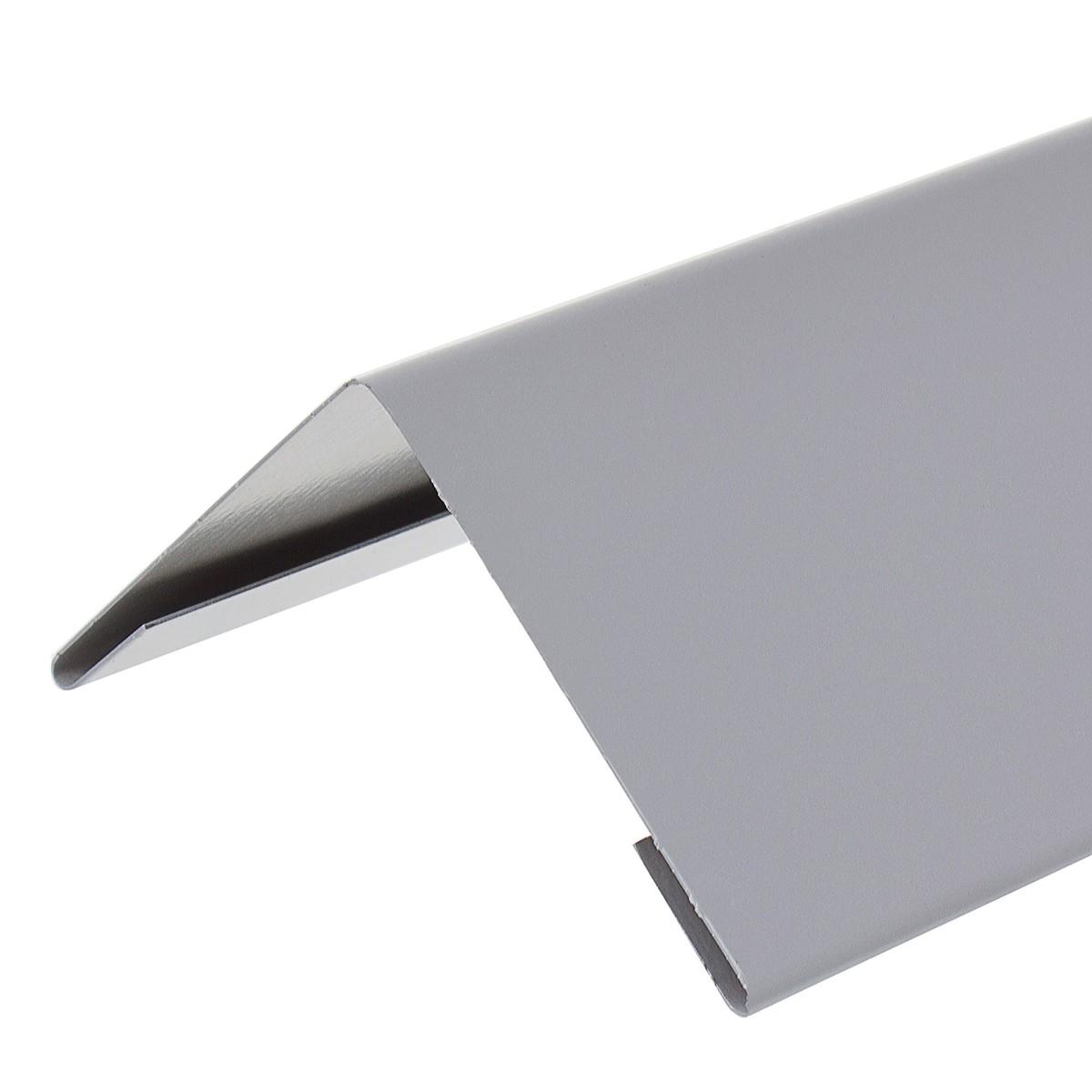 Уголок внешний серый