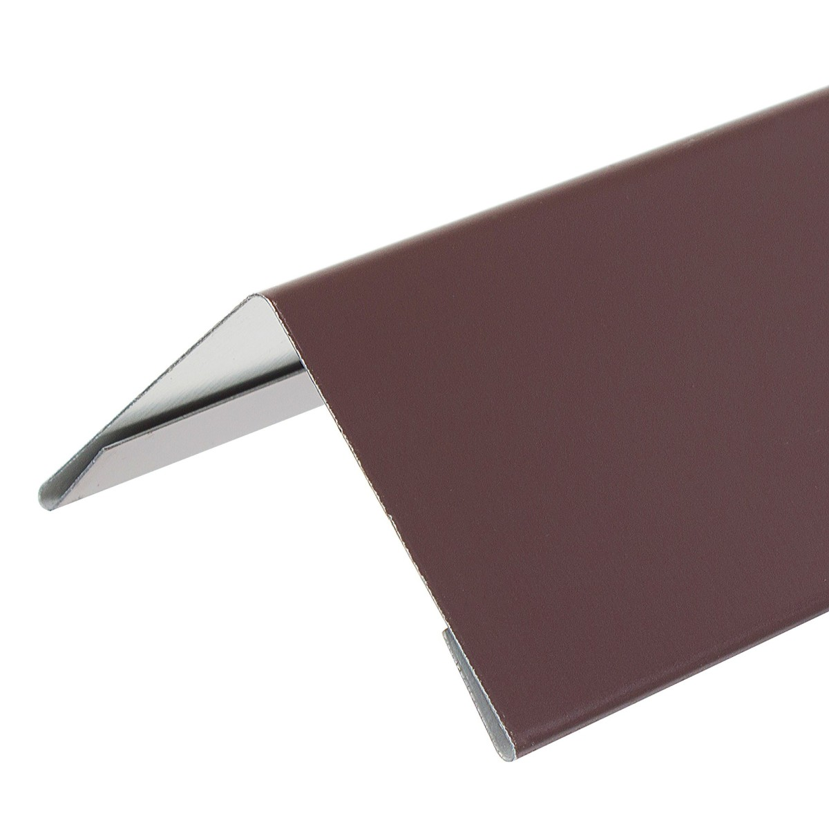 Уголок внешний коричневый