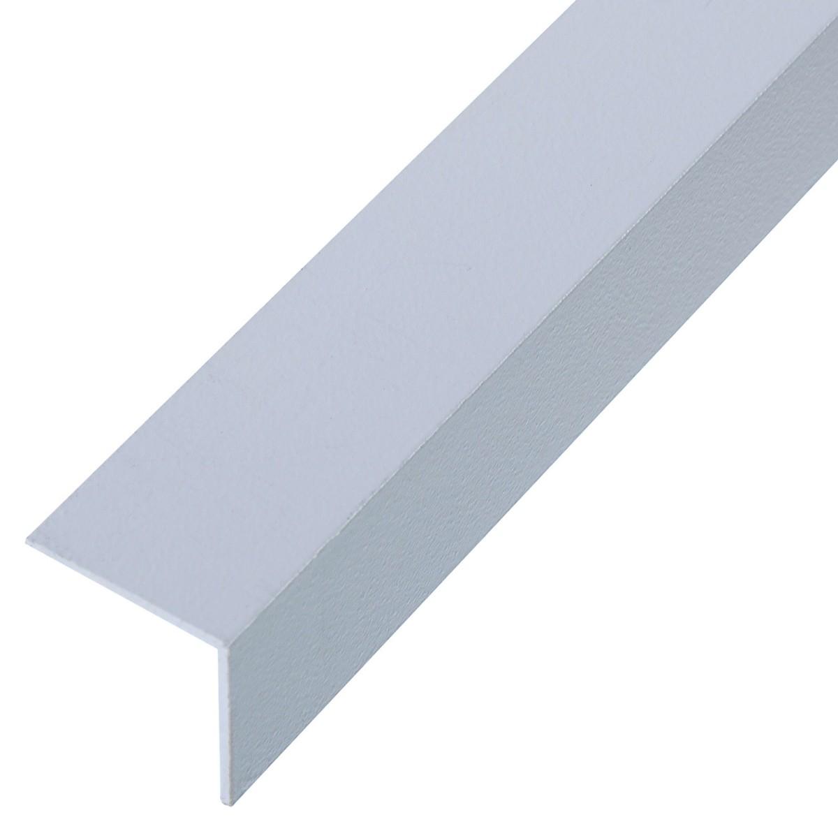 Уголок QuickStick 20x20x1x2000 мм алюминий цвет белый
