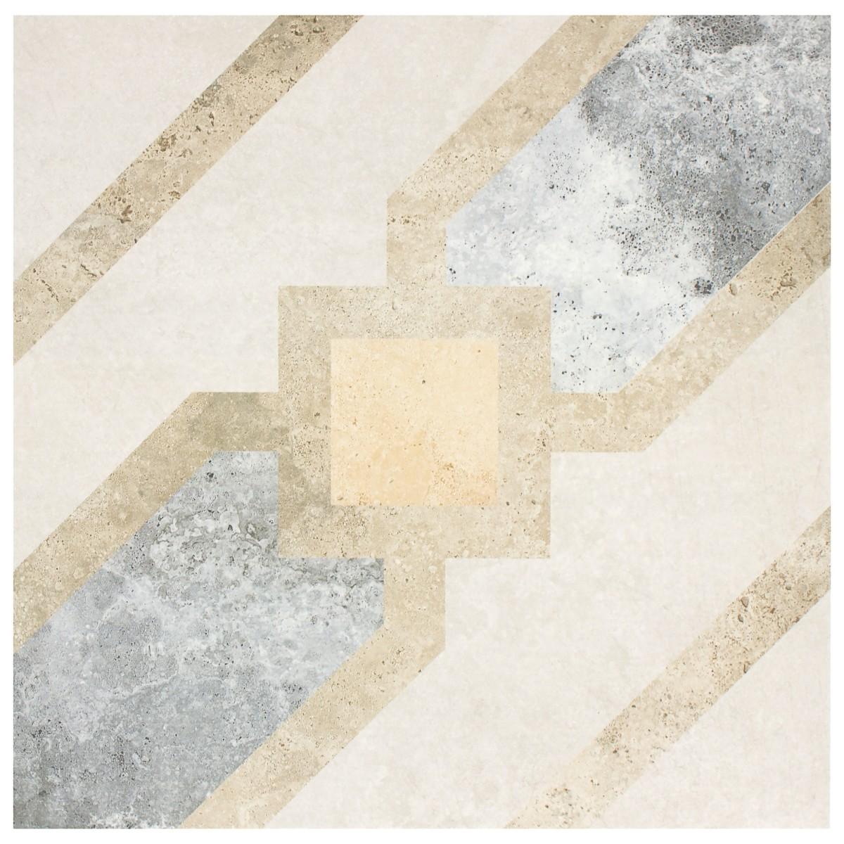 Декор Grasaro «Loft» 40х40 см цвет серый