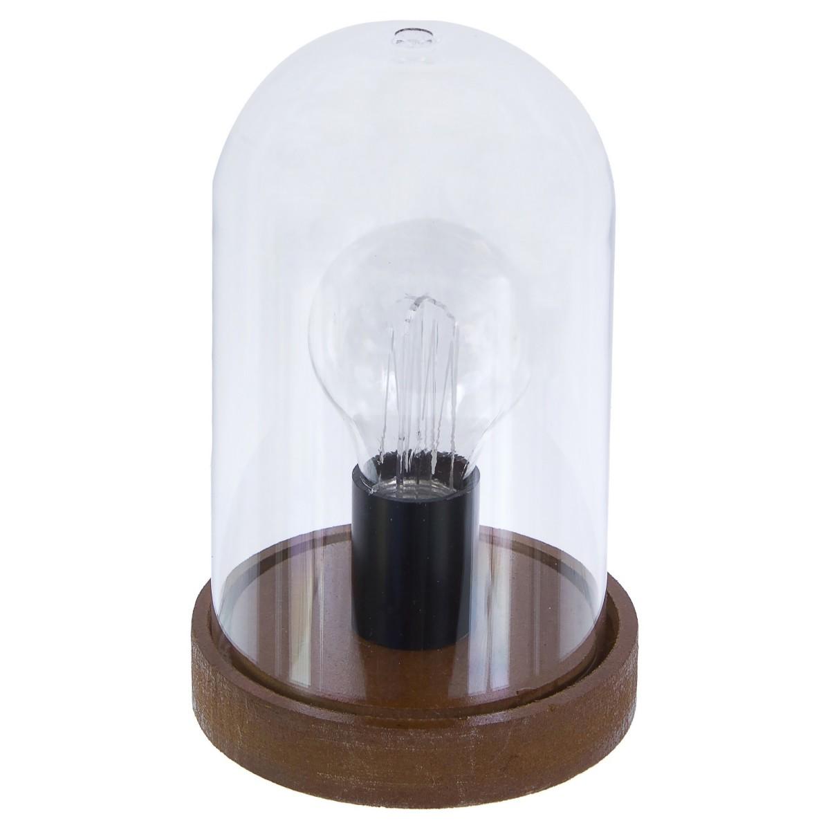 Декоративный светильник светодиодный «Globo» 1x0.06 Вт цвет черный