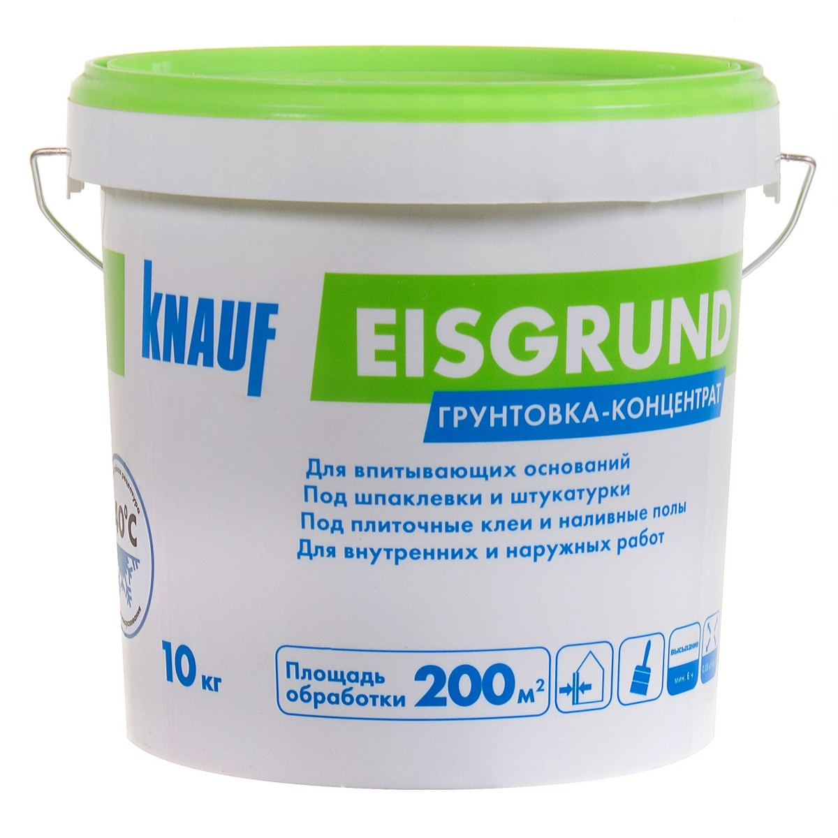 Грунт Knauf Айсгрунд концентрат 10 кг