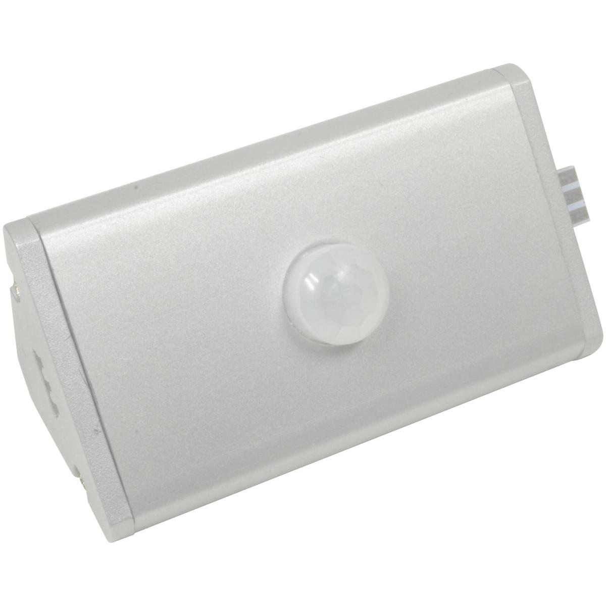 Выключатель с датчиком движения RIO треугольный цвет серый