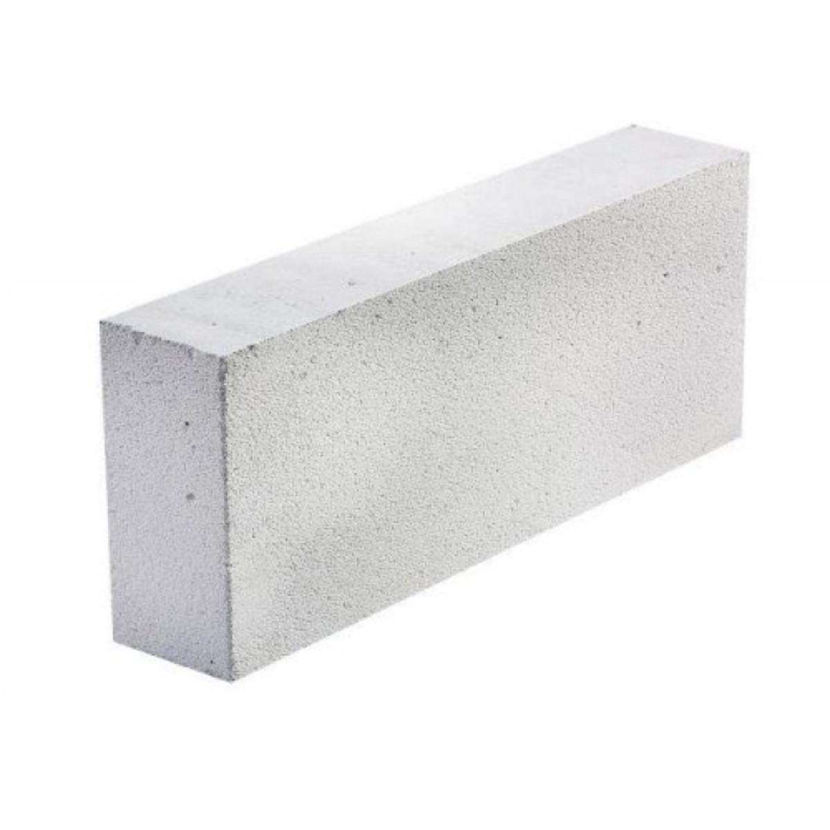 Блок газобетонный  200х250х600 мм