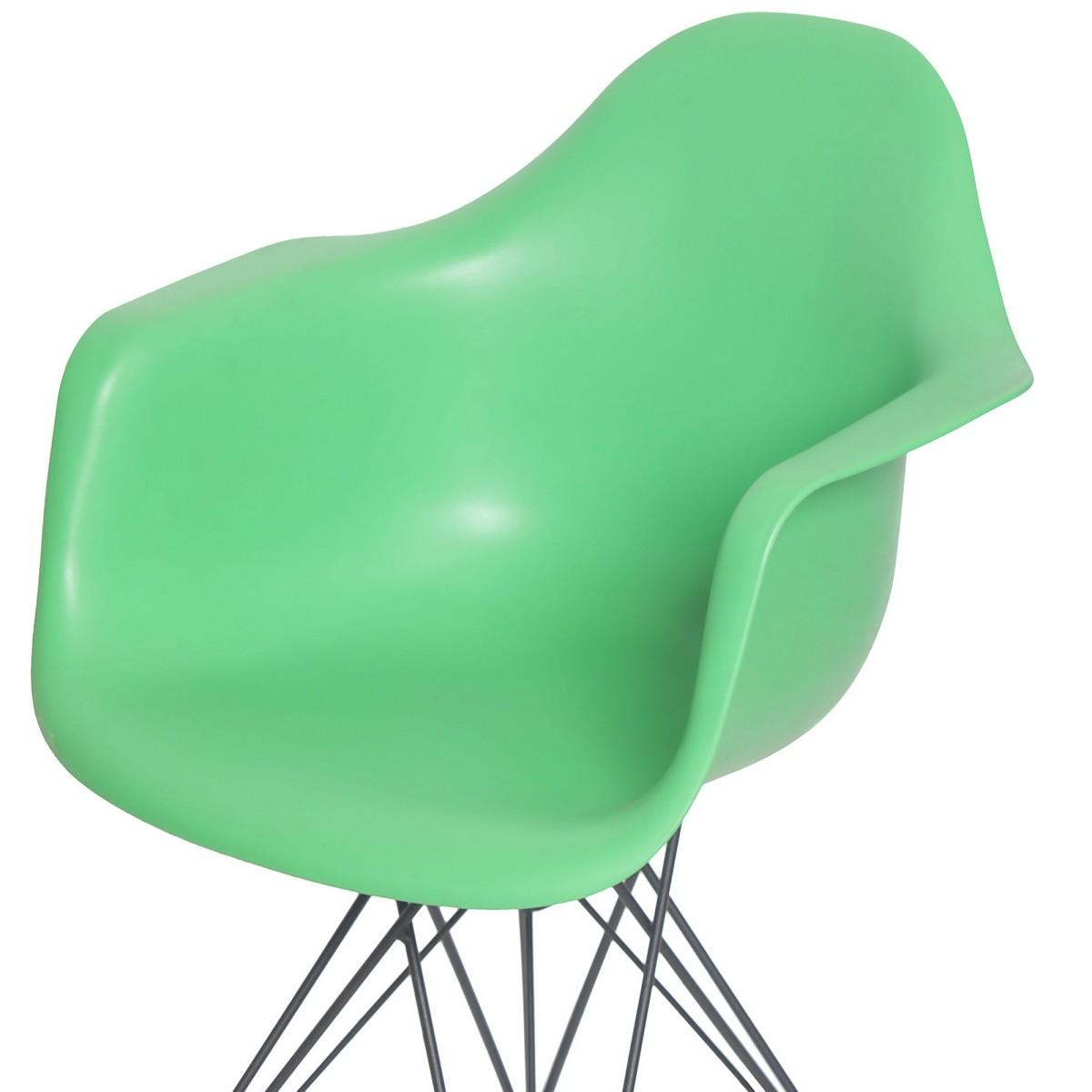 Сиденье для стула Sheffilton SHT-ST7 цвет зеленый RAL6018